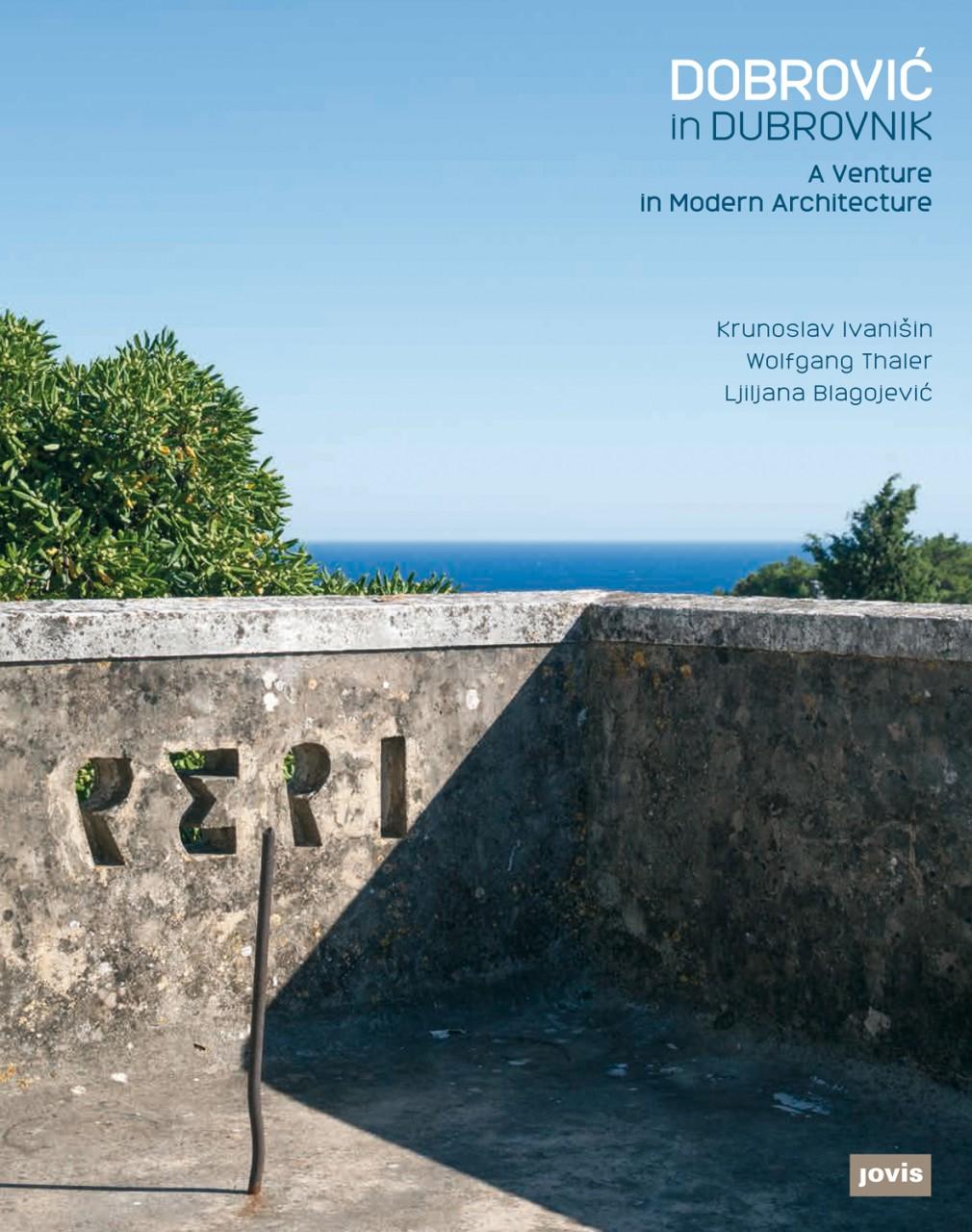 Dobrovic in Dubrovnik. Cover des im Jovis Verlag erschienenen Fotobands