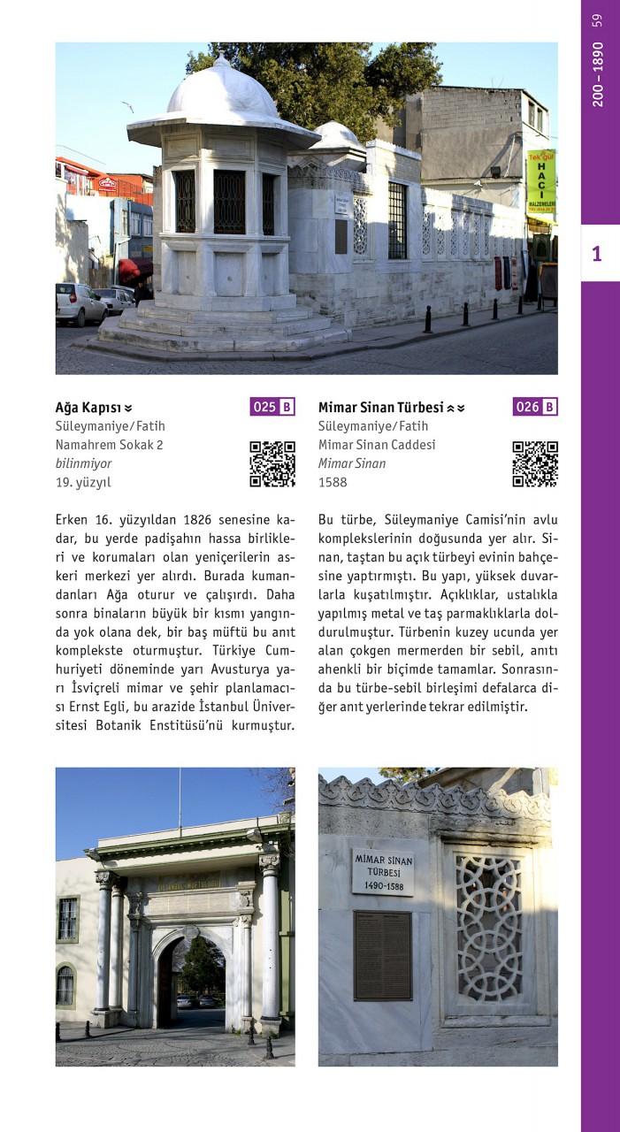Istanbul mimarlik rehberi. Mimar Sinan Türbesi