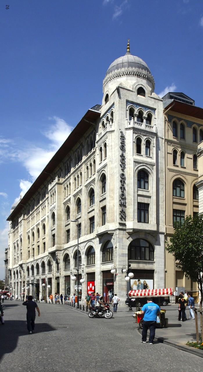 Istanbul mimarlik rehberi. Vakif Han