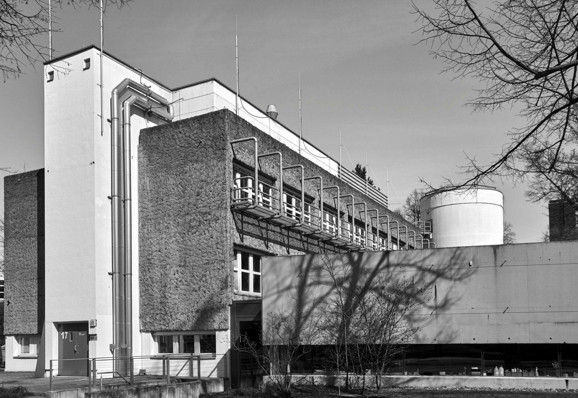 Fritz Haber Institut, Ernst Ruska Haus, Dahlem.