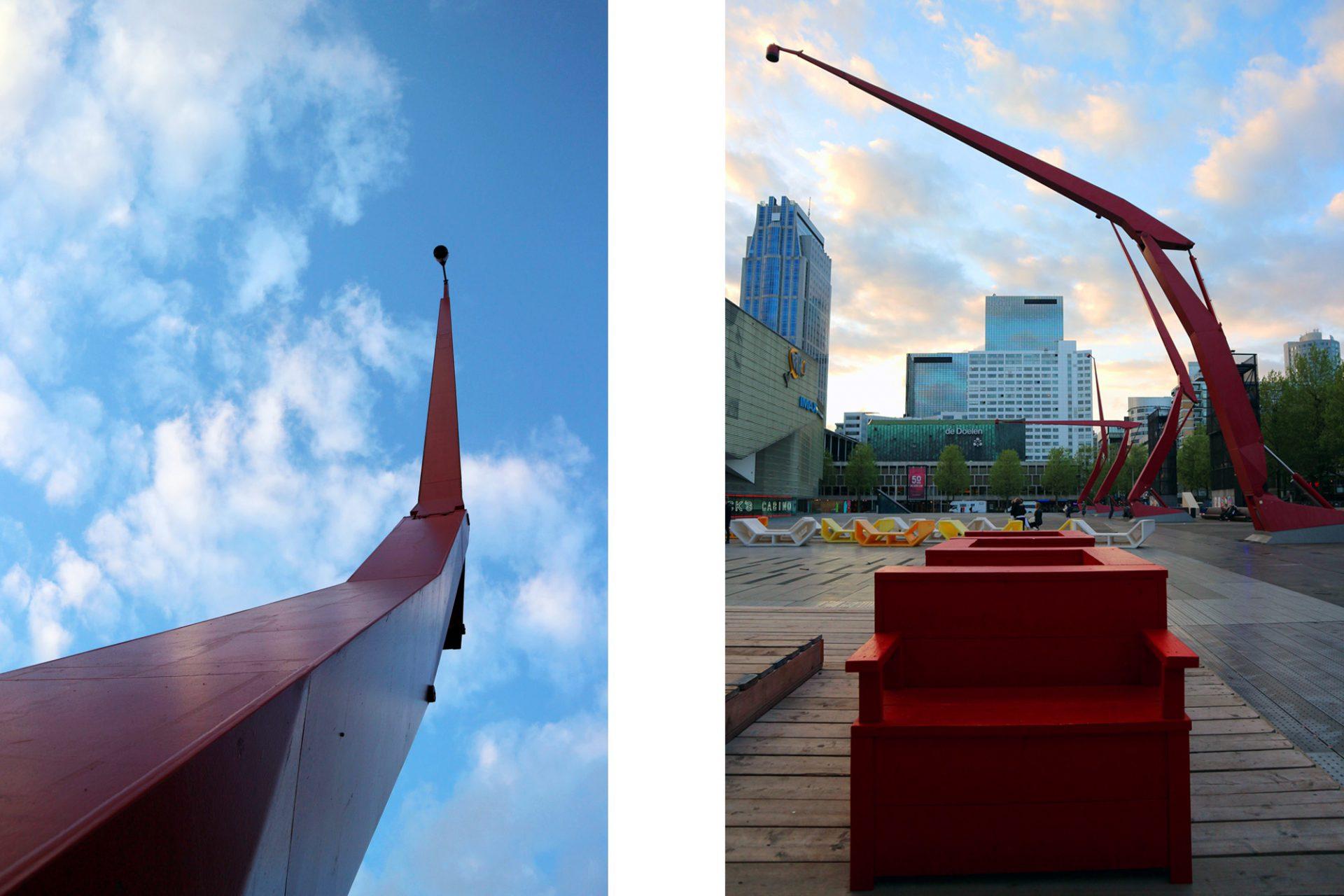 Stadt Der Enthusiasten Rotterdam Niederlande The Link Stadt