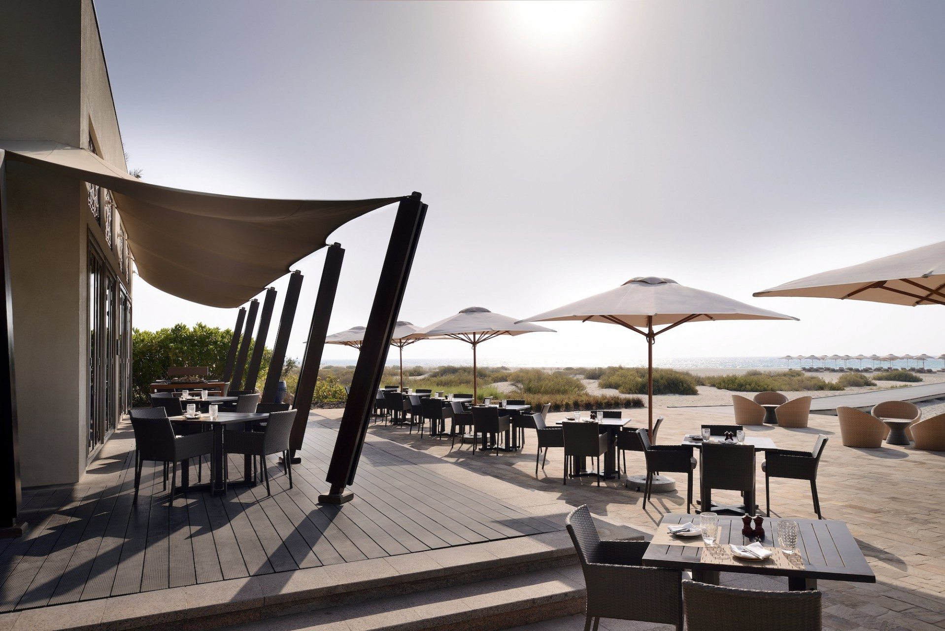 Am Strand. Beach House, Park Hyatt Abu Dhabi