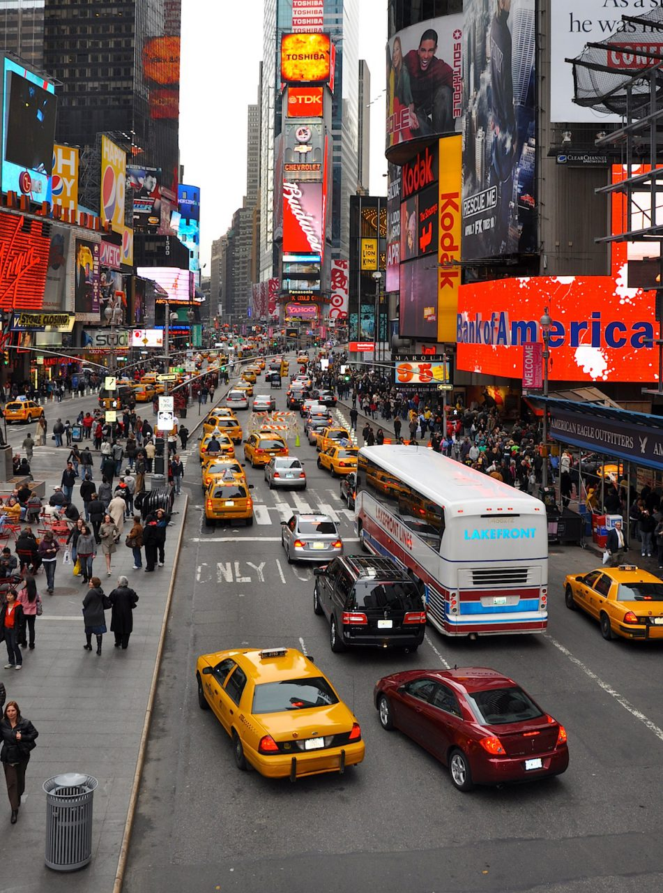 Times Square, New York City: Places for People. Before. 