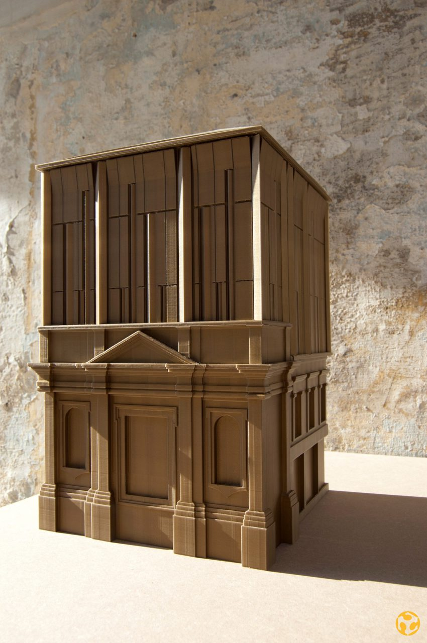 St. John's Co Cathedral Museum Extension.  Model Credits: Fablab Valletta