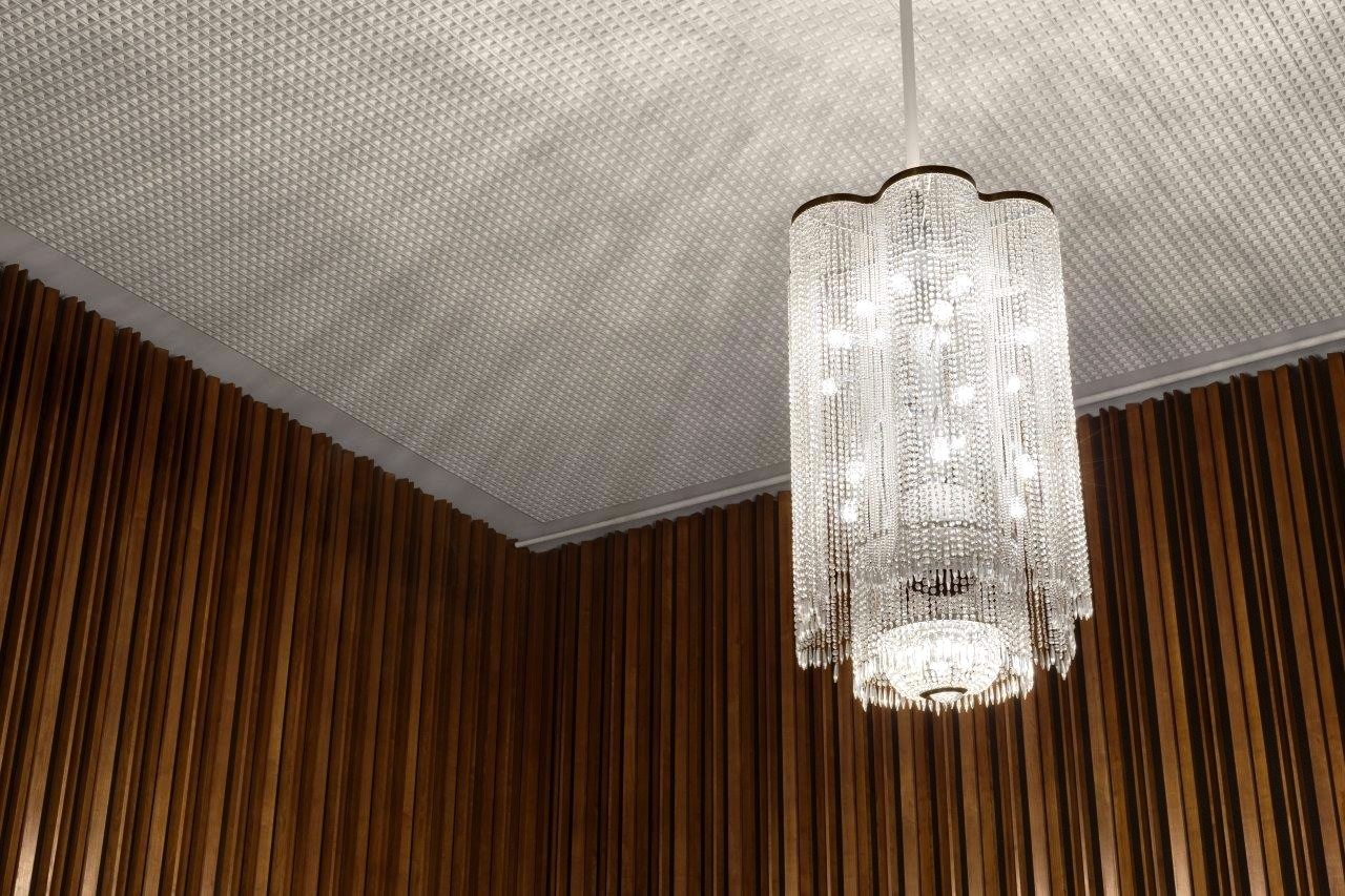 Licht.  Detail der Inneneinrichtung