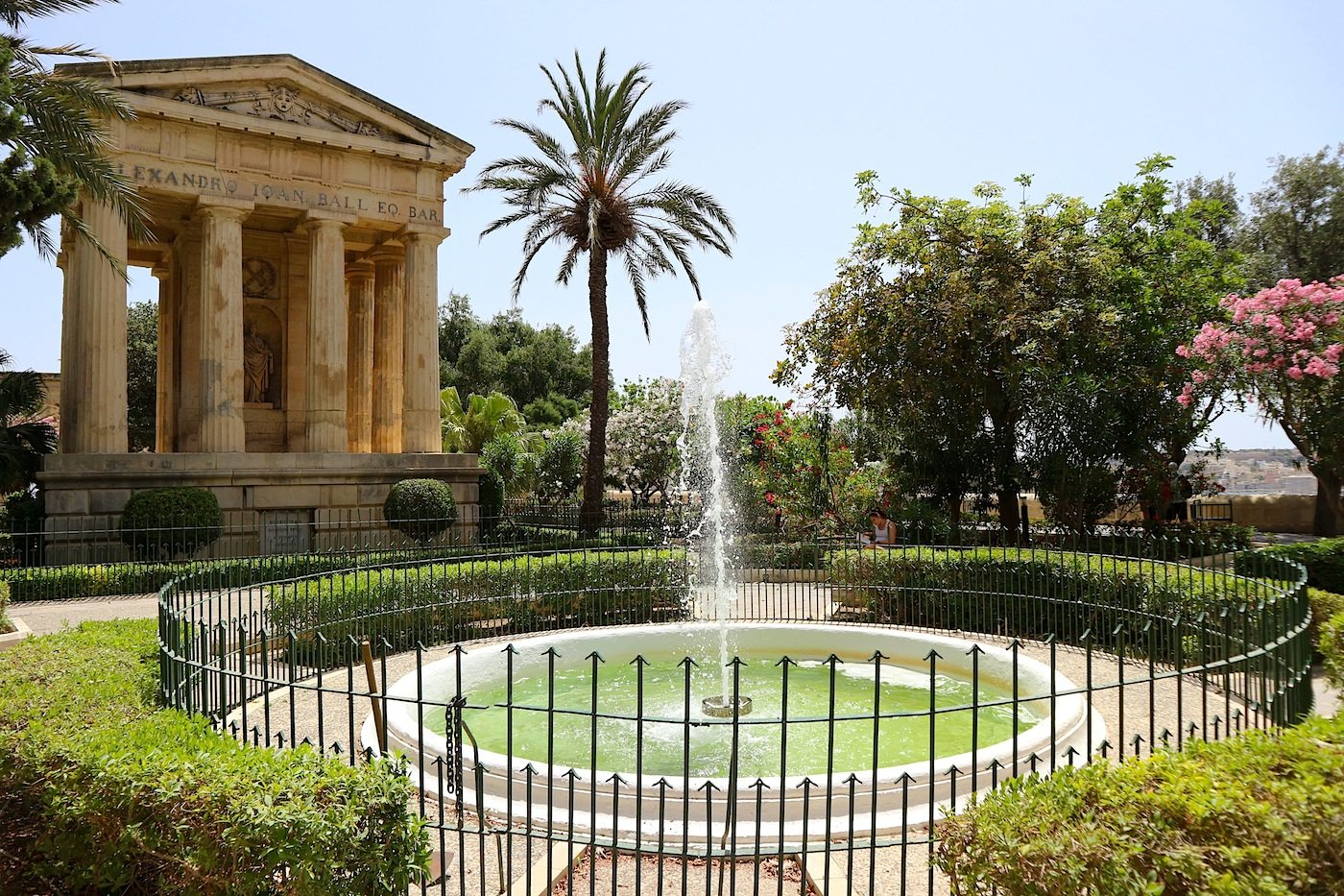 Lower Barraka Gardens, Valletta.