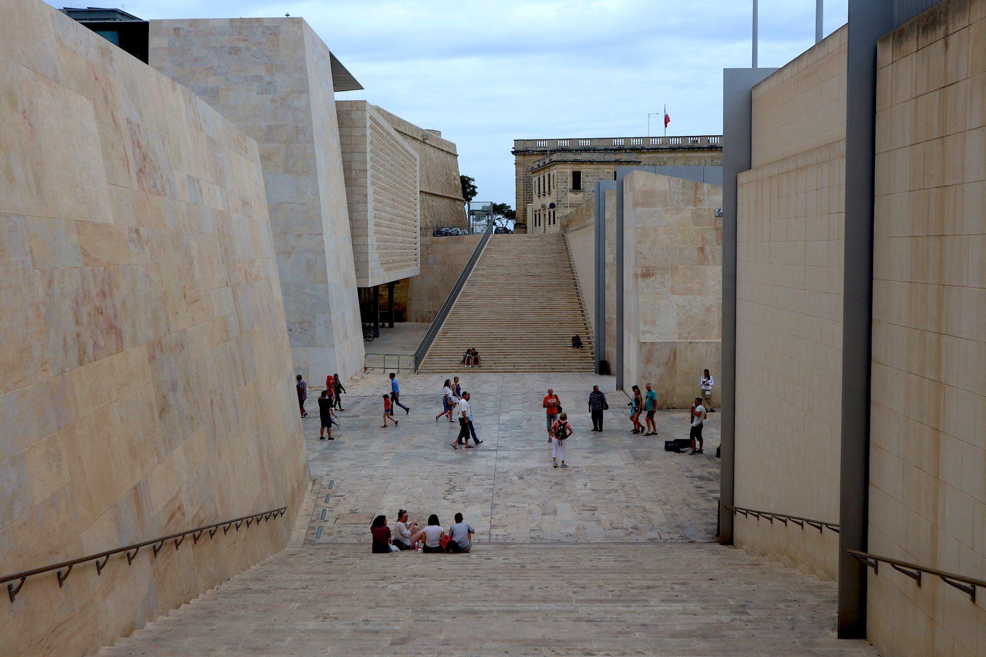 City Gate, Valletta.