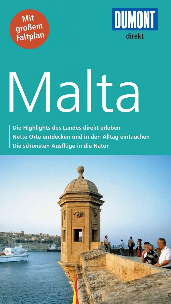 Malta DuMont Direkt.  Alles auf einen Blick und die Highlights kompakt und direkt zusammengefasst.