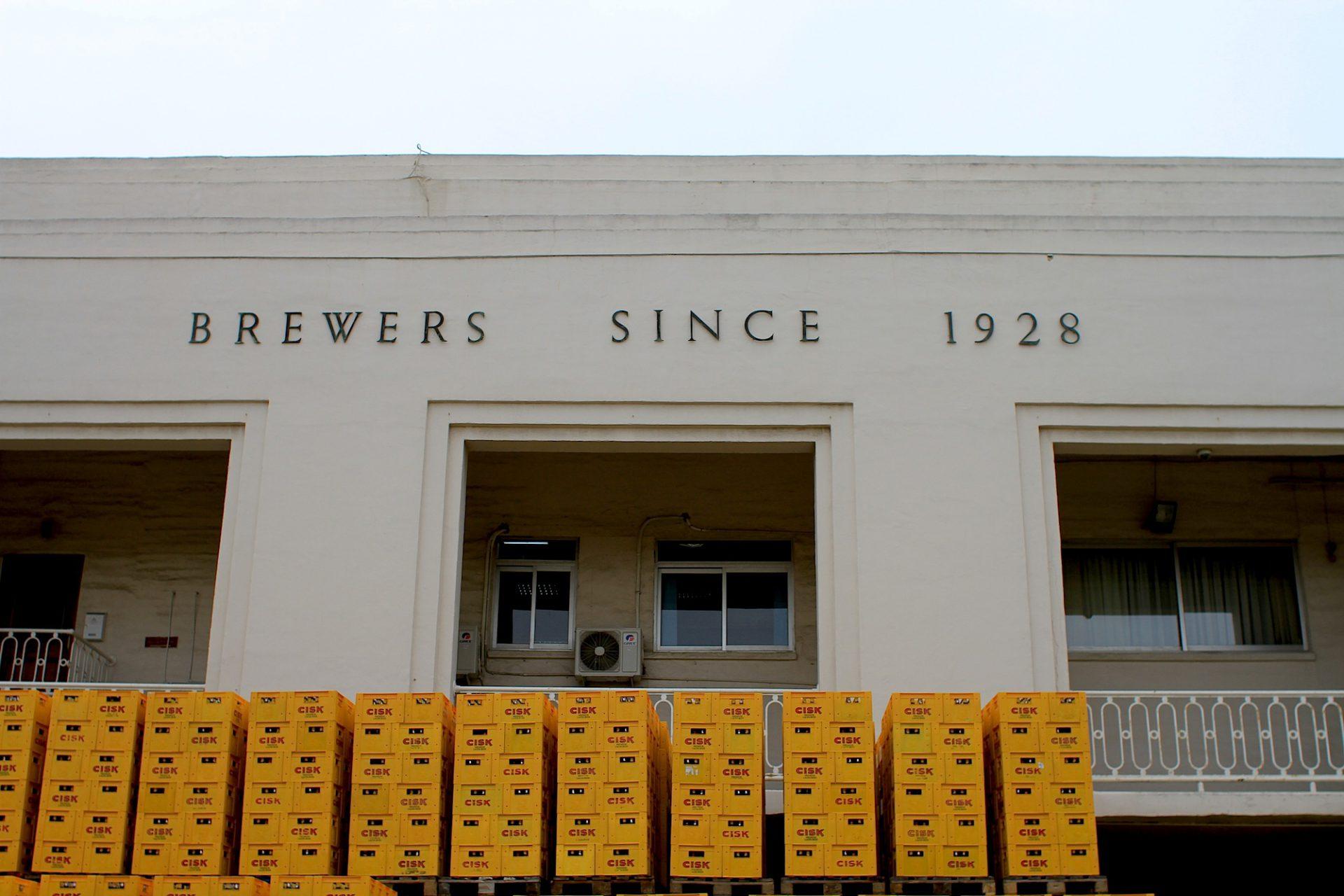 Kontrastreich.  Im Zuge des Umbaus sollen Büros und Gewerbe in diesen Teil der Brauerei.
