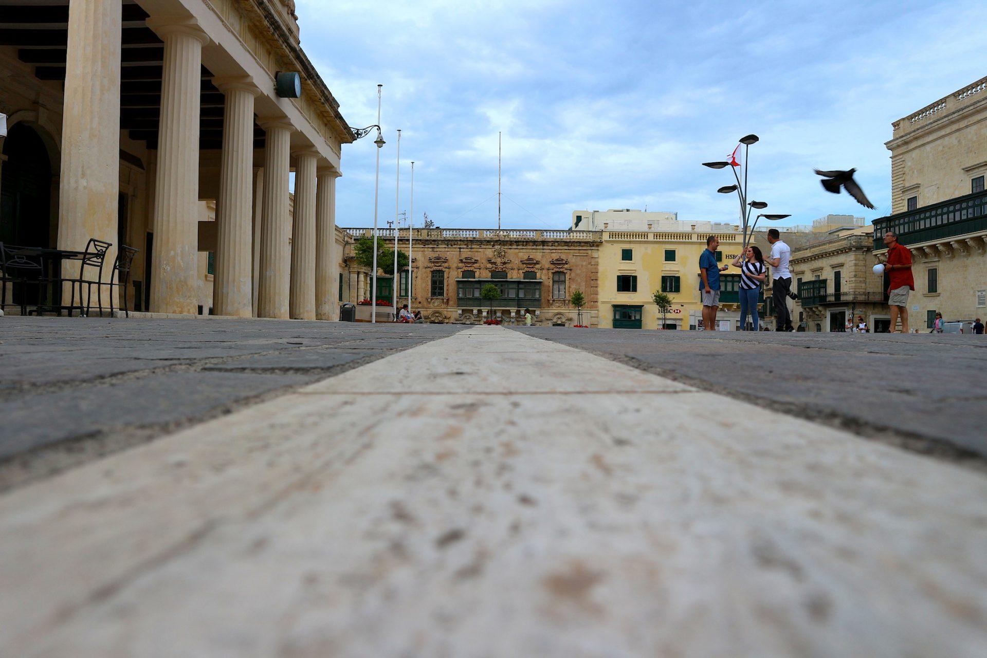Platz der Republik, Valletta.
