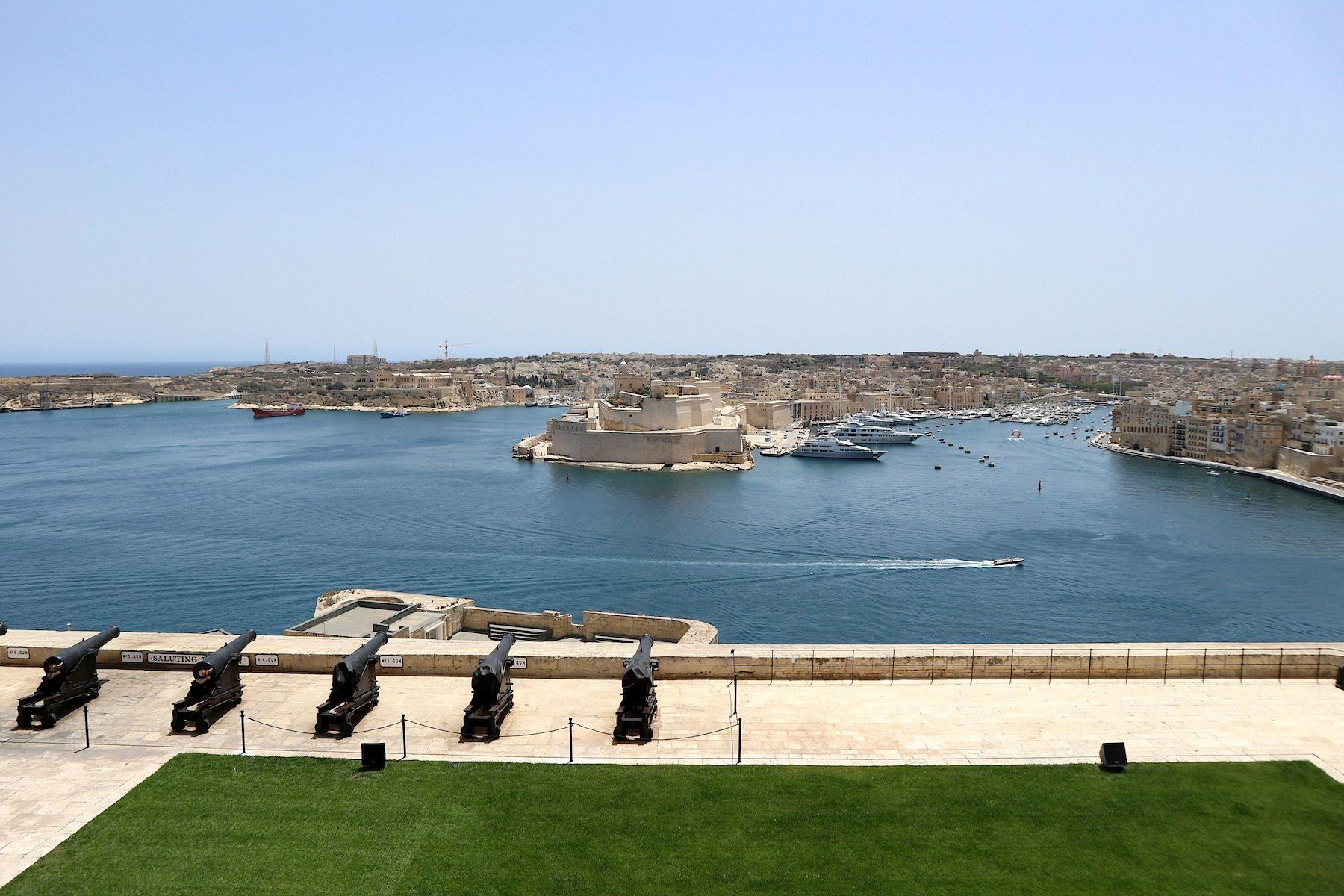 Upper Barraka Gardens, Valletta.
