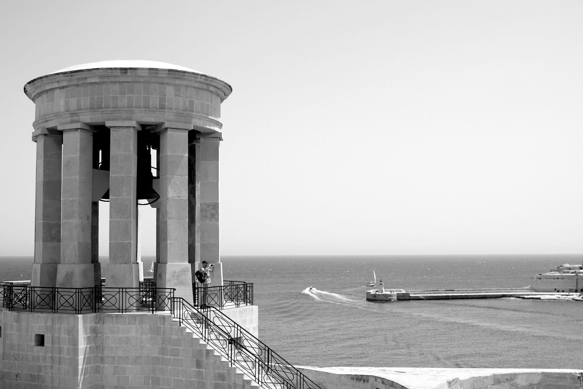 Siege Bell Memorial, Valletta.
