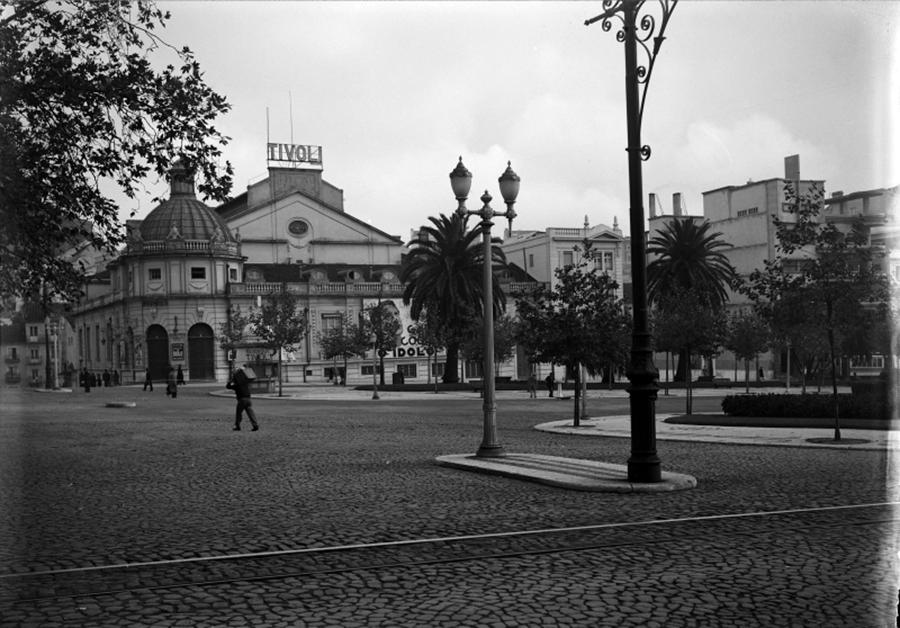 Teatro Tivoli um 1925.