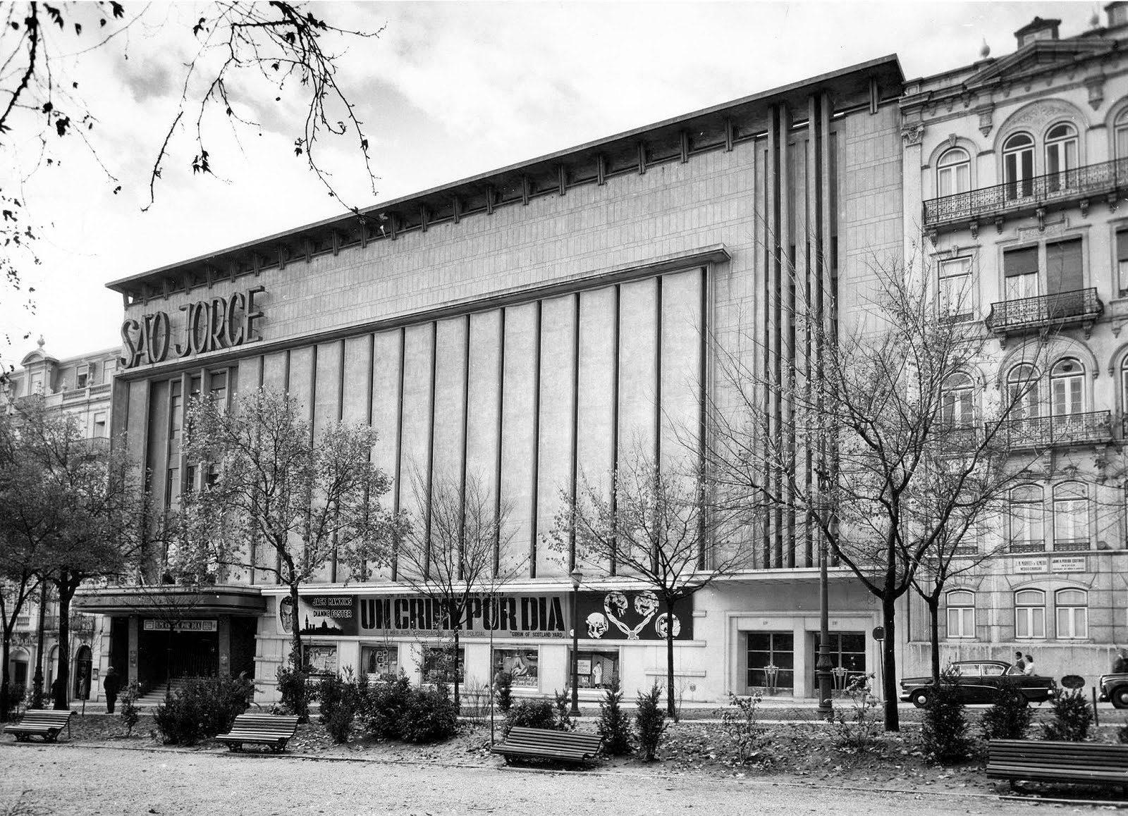 Cinema São Jorge um 1950.