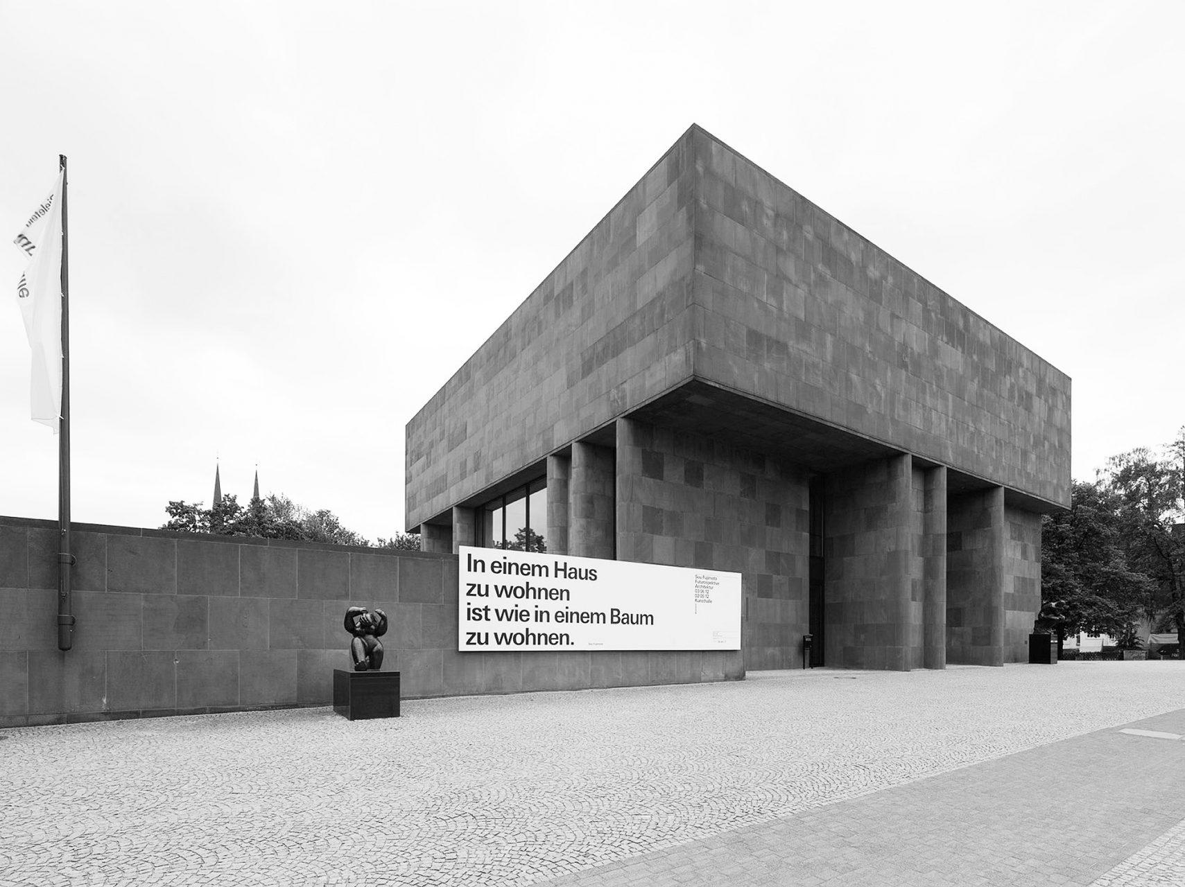 Das Werk.  Die Kunsthalle Bielefeld ist der einzige europäische Museumsbau des amerikanischen Architekten und zählt zu den bedeutendsten deutschen Museumsarchitekturen der Nachkriegszeit.