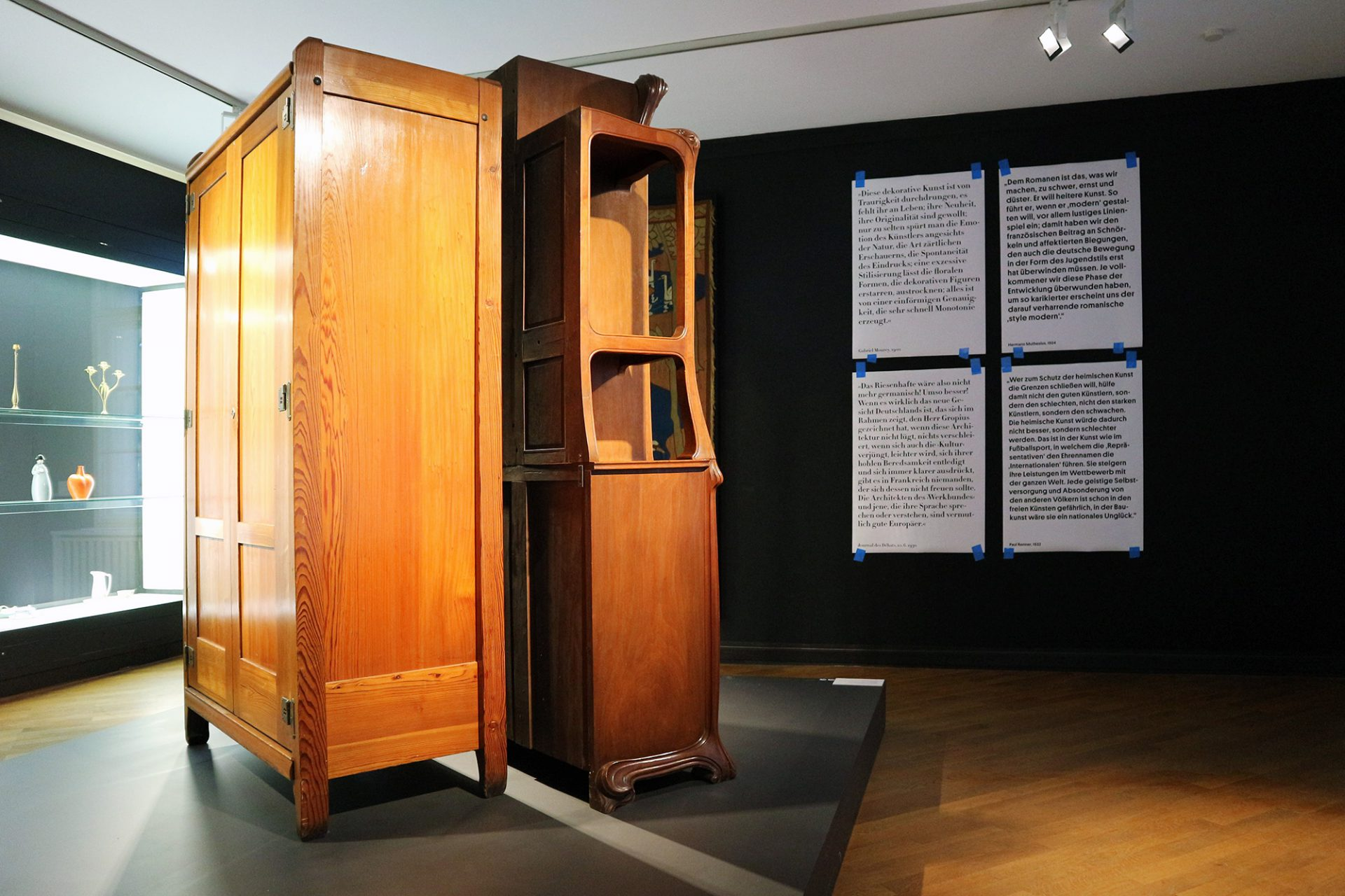 Deutsch-französischer Zweikampf im Bröhan-Museum Berlin