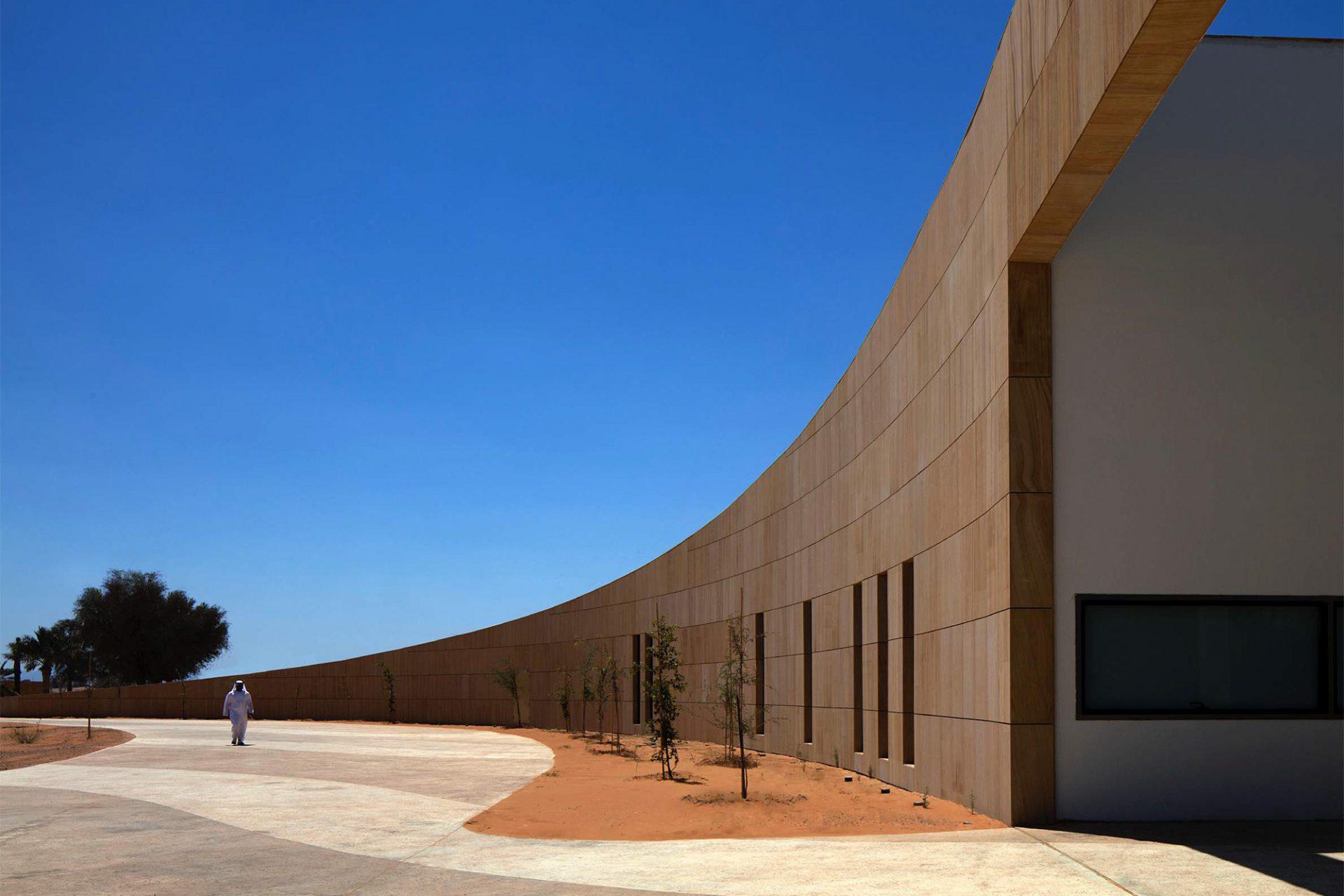Mleiha Archaeological Centre. Ein sanfter Schwung