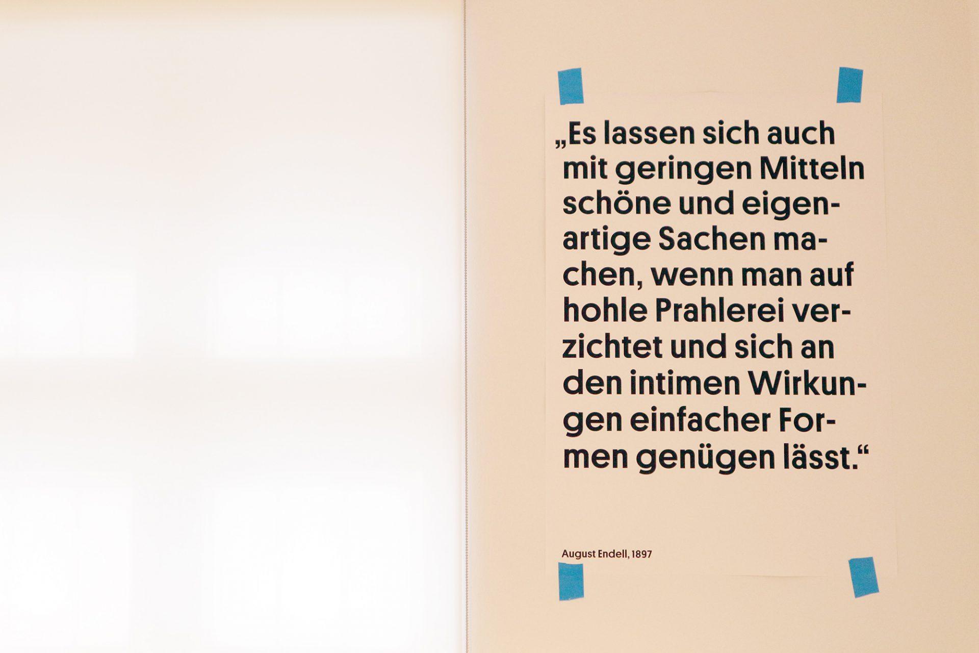 August Endell.  Der Berliner Architekt und Gestalter (1871–1925) gehörte zu den wichtigsten Protagonisten des deutschen Jugendstils.