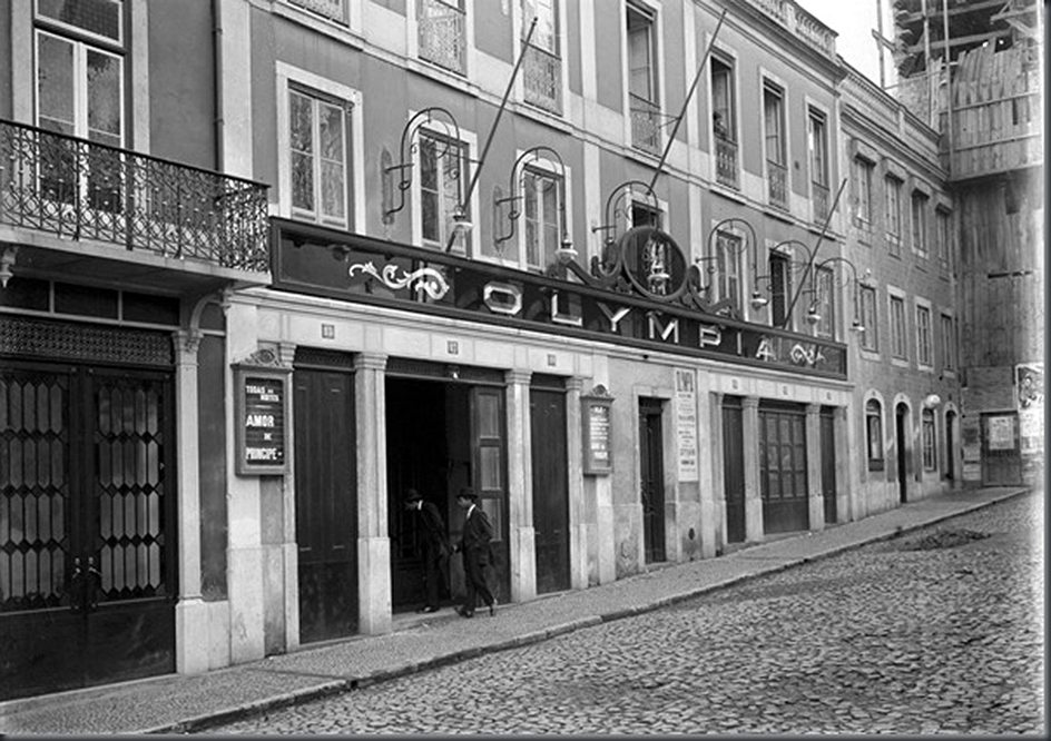 Cinema Olympia um 1911.