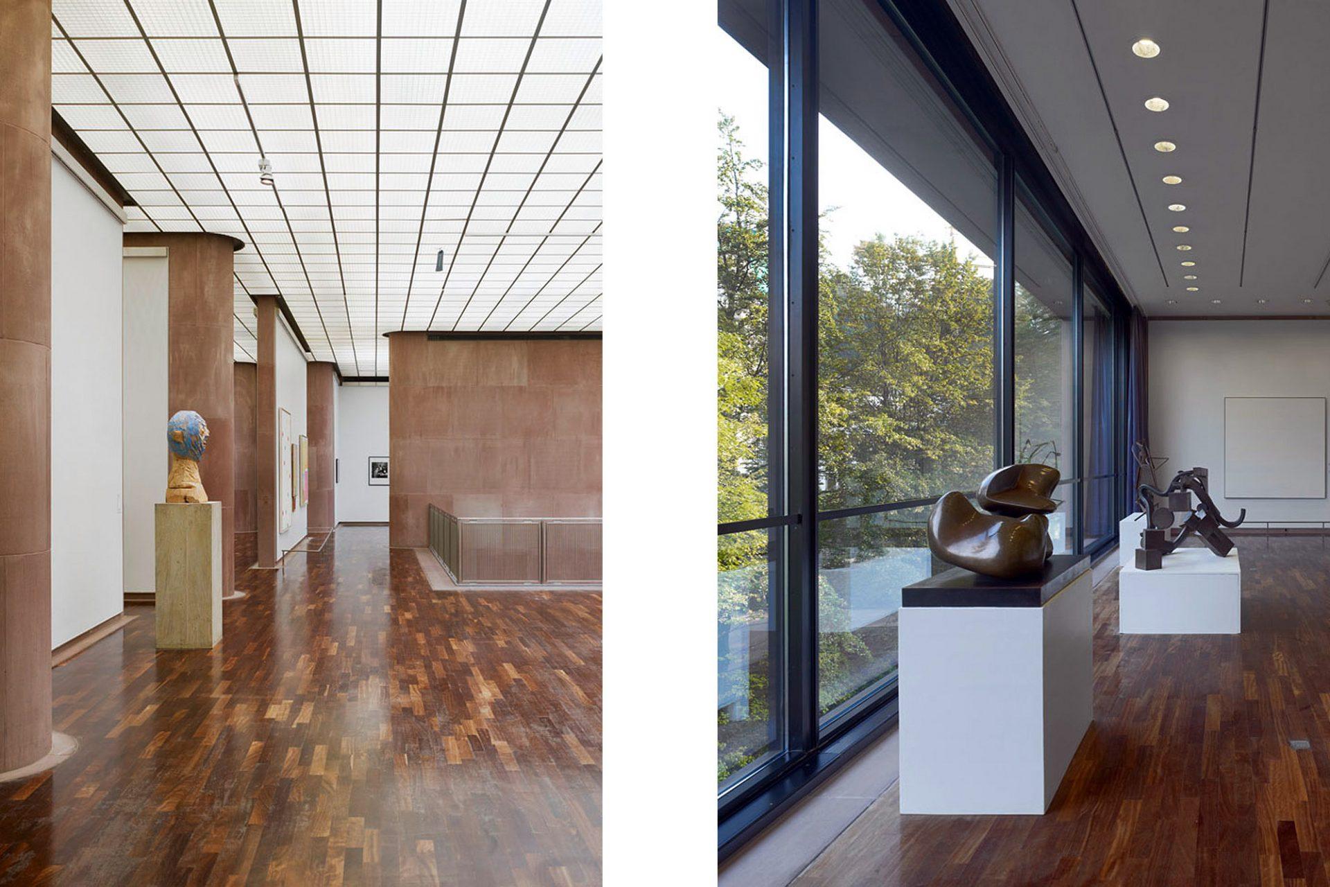 Die Sammlung.  Deren Kern bildet bis heute die Kunst des 20. und 21. Jahrhunderts, expressionistische Malerei und Plastiken der klassischen Moderne. Darunter sind Werke von Picasso, Max Beckmann, Man Ray, Sonia und Robert Delaunay.