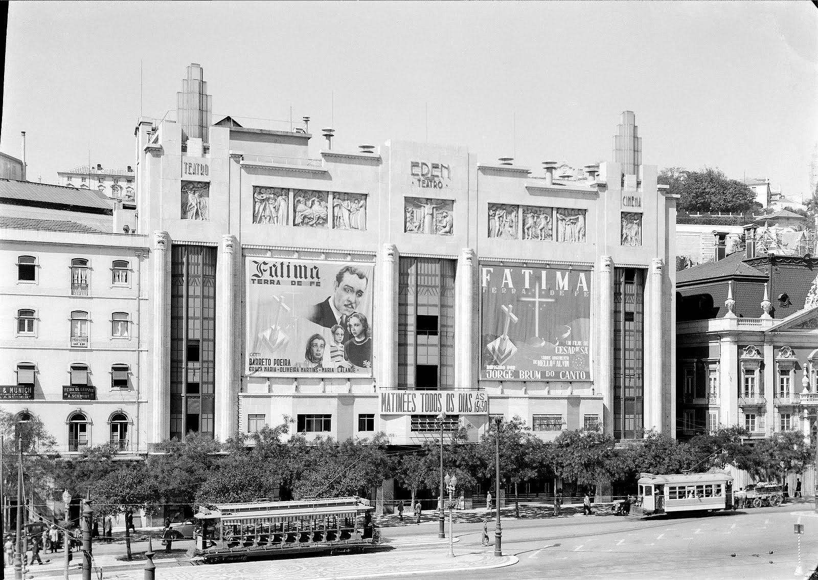 Teatro Éden um 1935.