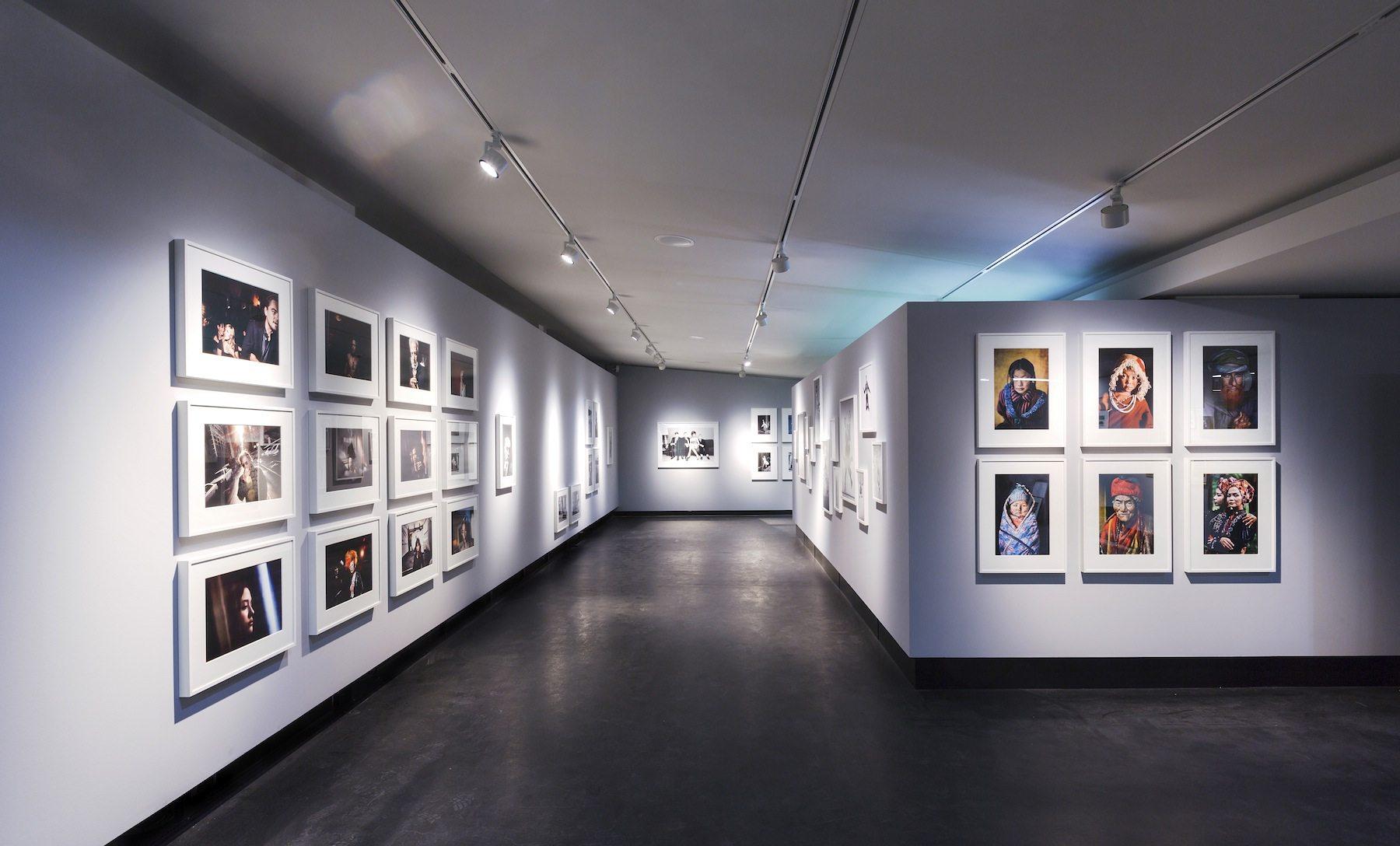 Ausstellungsraum. Im C/O Berlin, Amerika Haus