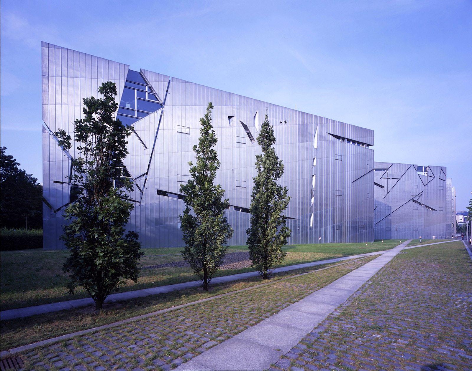 Außenansicht.  Jüdisches Museum Berlin
