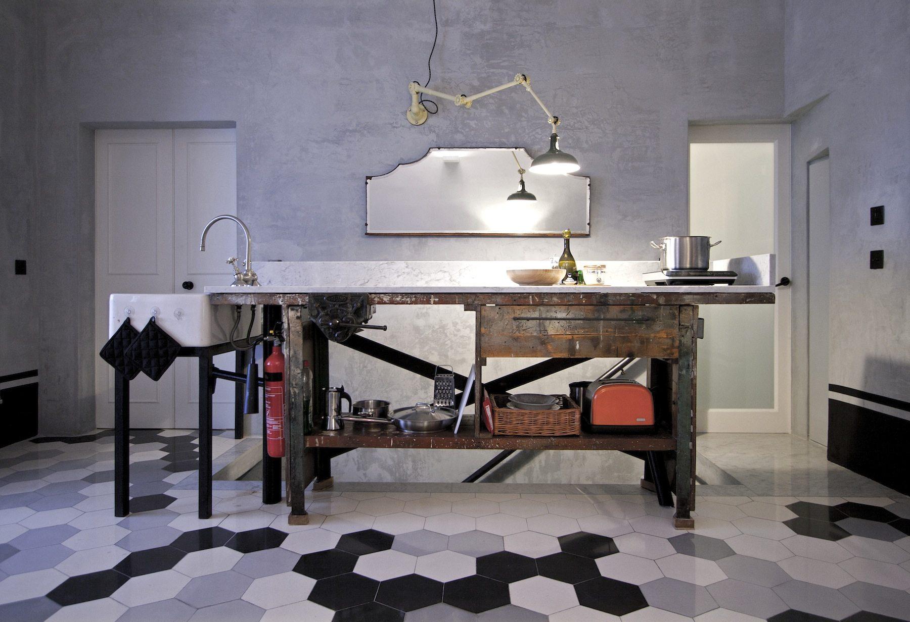 """Valletta Vintage. Die Wohnküche im """"Retro Pad"""""""
