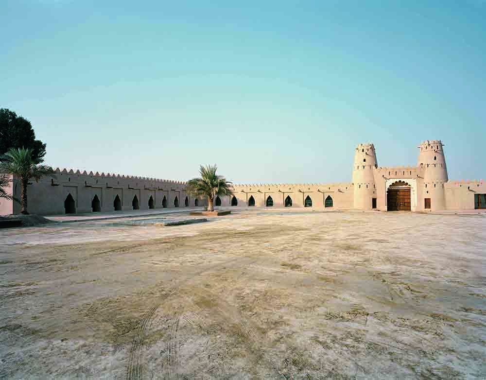 Jahili Fort Al Ain, Abu Dhabi. Bauherr Abu Dhabi Authority for Culture and Heritage (ADACH), Fertigstellung: Dezember 2008