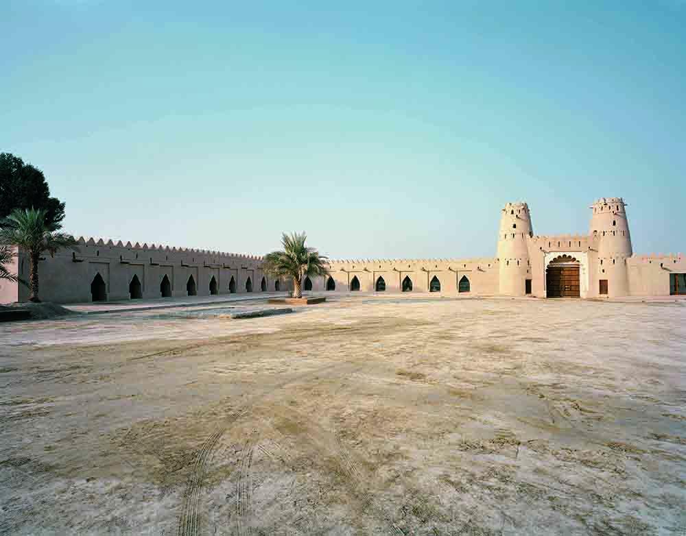 Jahili Fort.  In Al Ain, Abu Dhabi
