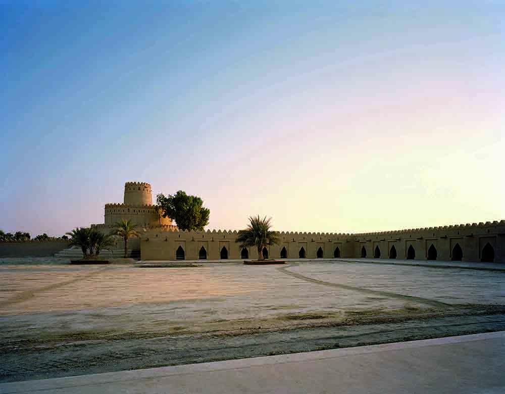 Jahili Fort Al Ain, Abu Dhabi. Generalplanung, Architektur, Interieur: Roswag & Jankowski Architekten. Ausstellungsgestaltung, Grafikdesign: Roswag & Jankowski Architekten, Christiane Liebert, Dipl.-Des. (FH).