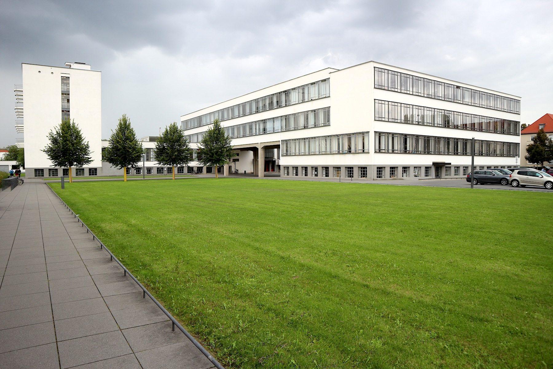 Atelierhaus mit dem Nordflügel.