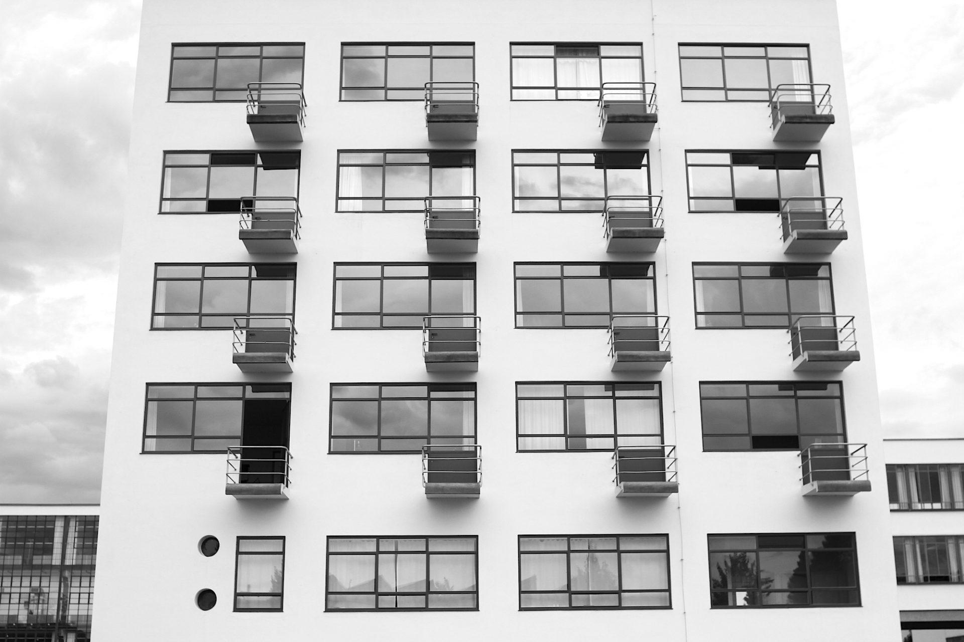 Atelierhaus. Der höchste Körper des Gebäudes