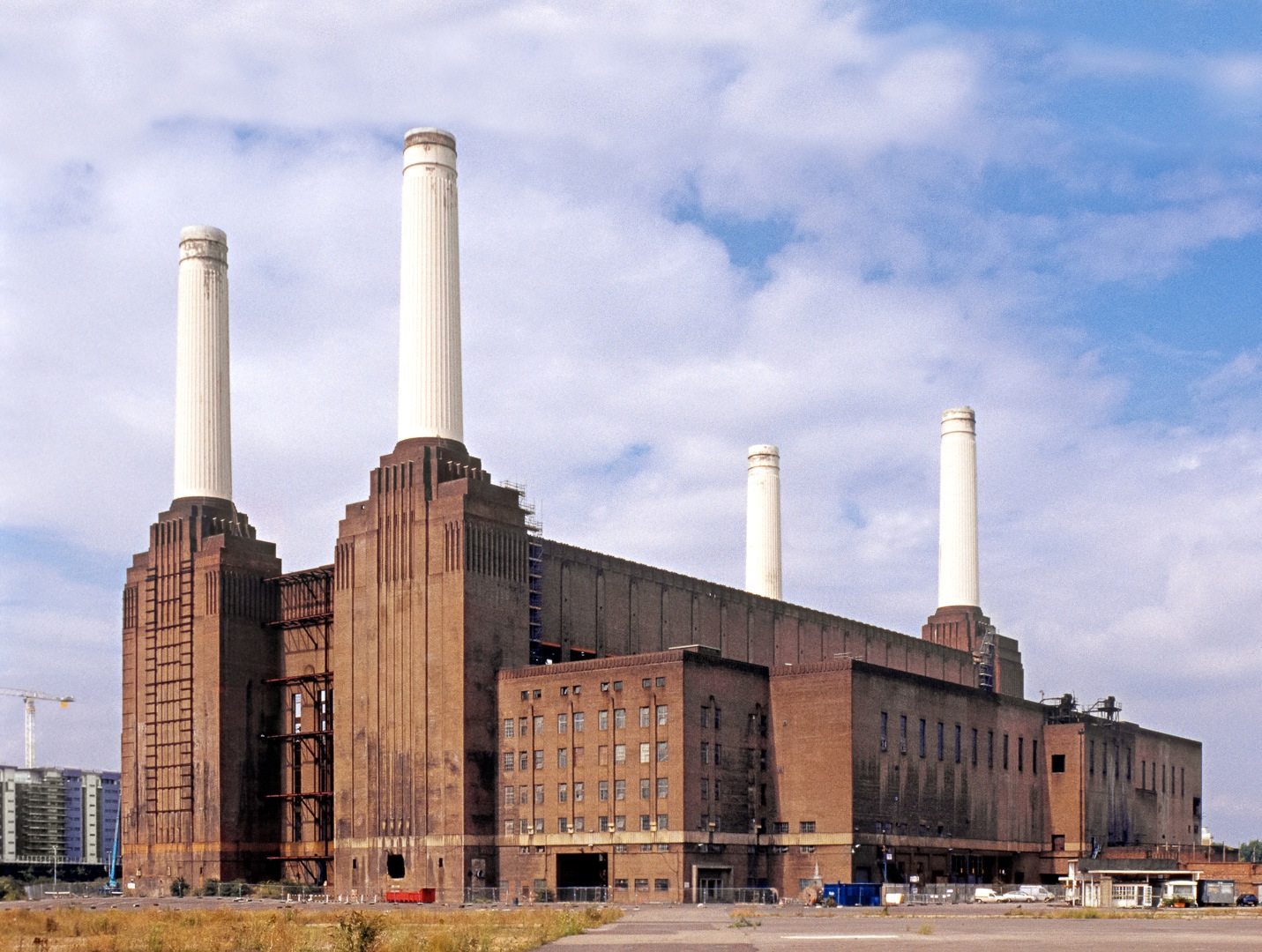 Battersea Power Station. In London, Großbritannien
