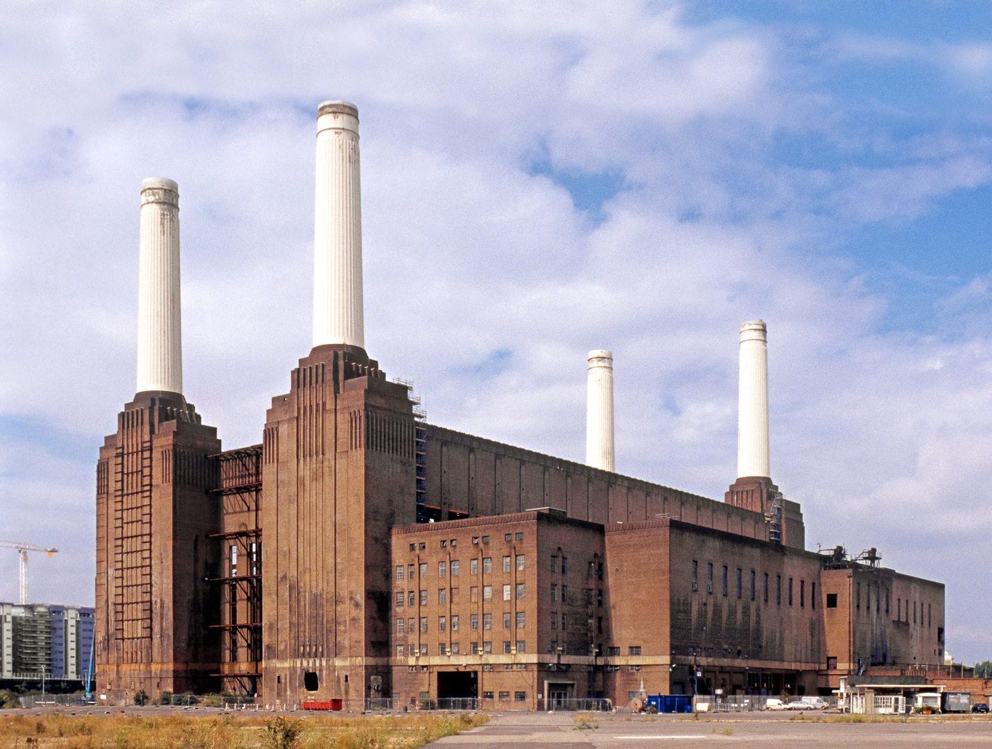 Battersea Power Station.  In London, Großbritannien
