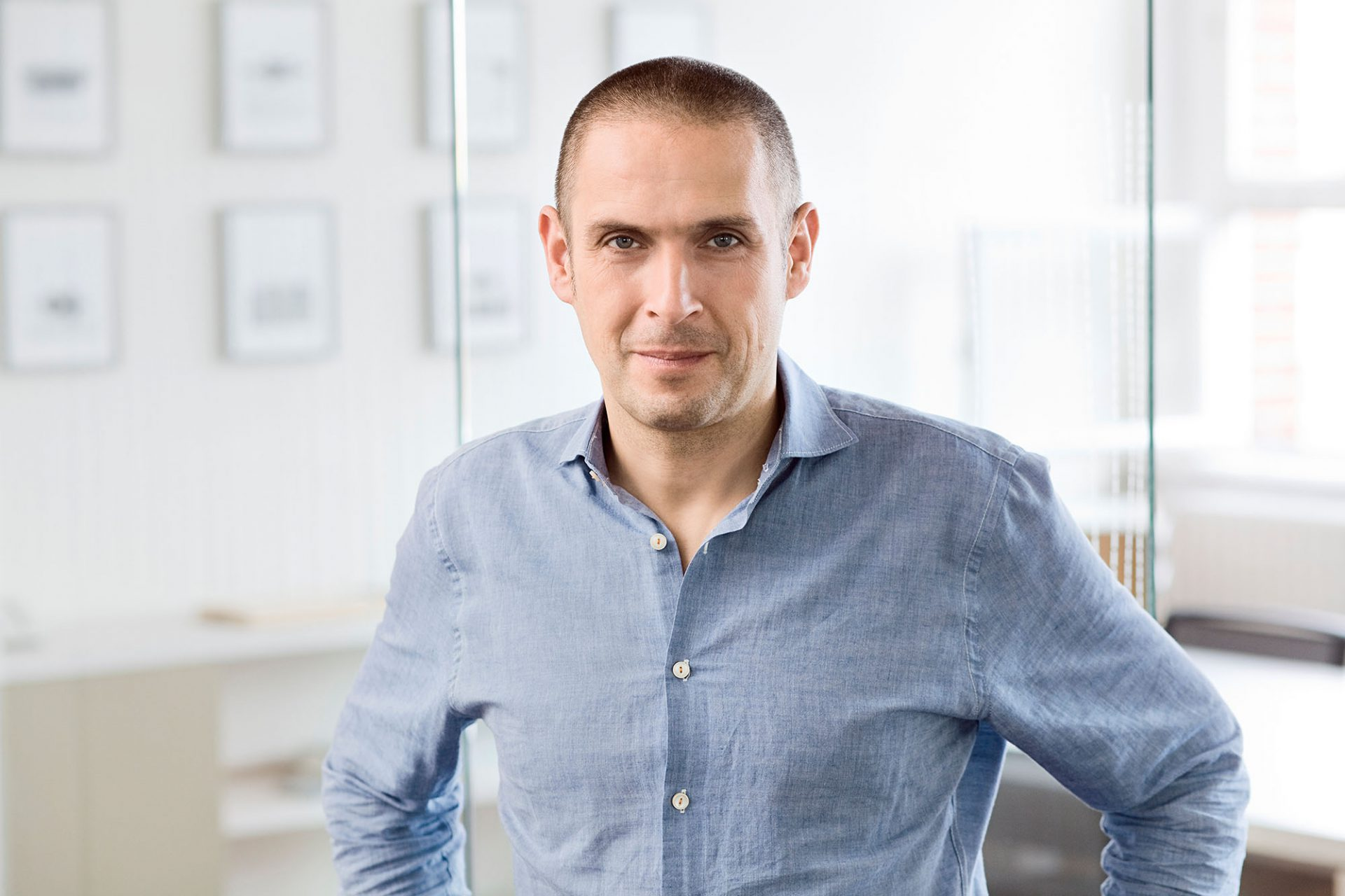Eike Roswag-Klinge. Architekt, Mitinitiator und Geschäftsführer bei Ziegert Roswag Seiler Architekten Ingenieure