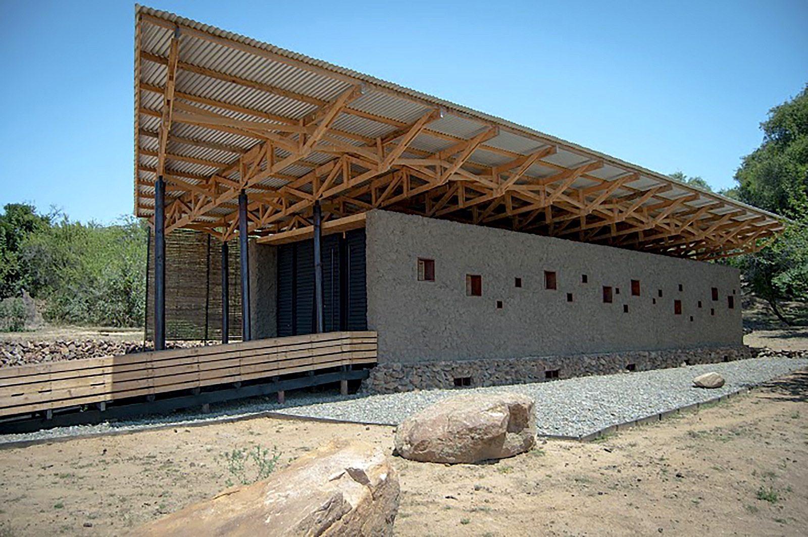 Pavillon Ruca Choro.  In Cauquenes, Chile, von Patricio Merino Mella –Finalist