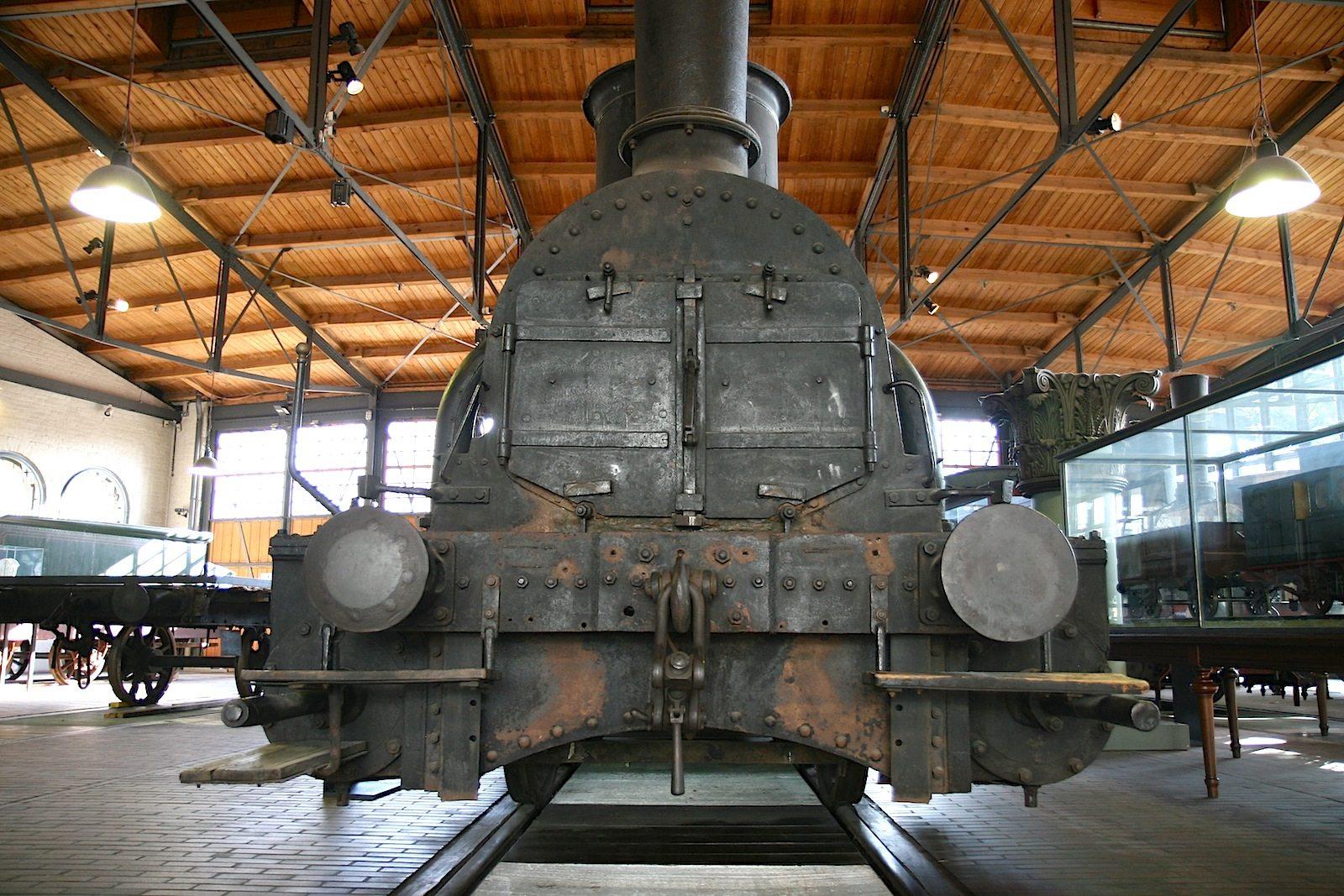 Schwergewicht.  Alles rund um den Schienenverkehr im Technikmuseum