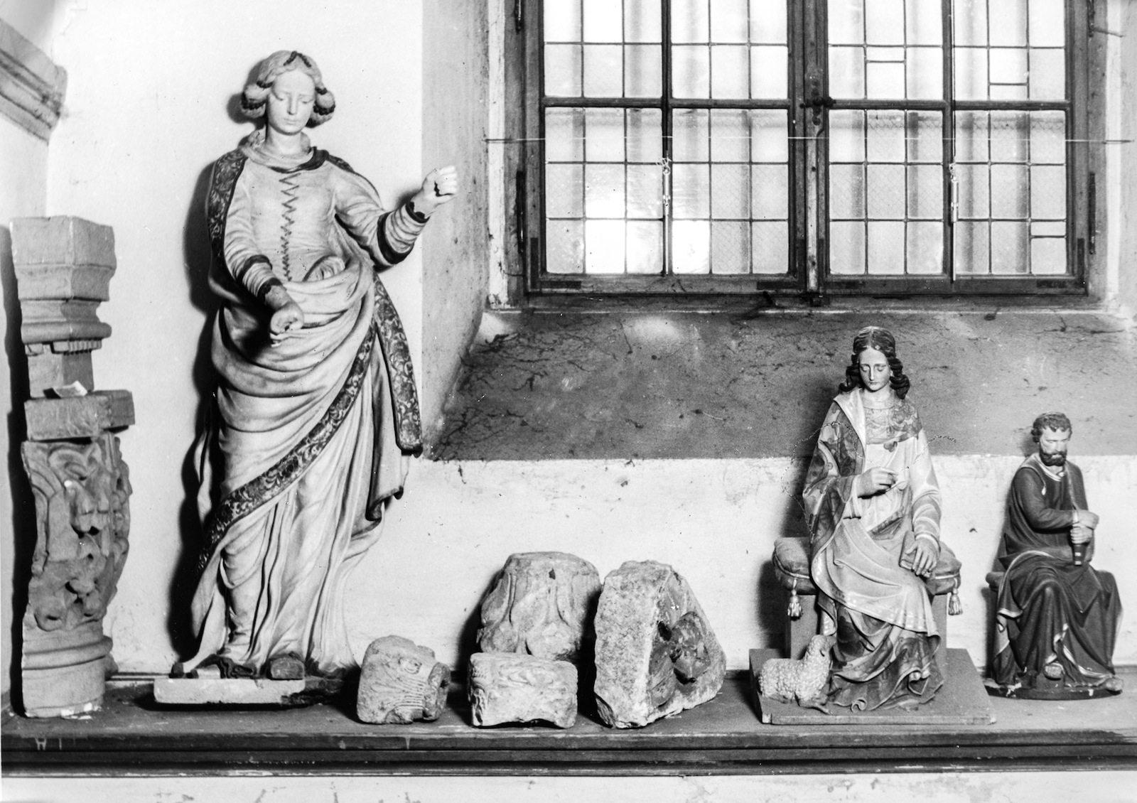 Im Vorgängerbau Diözesanmuseum.