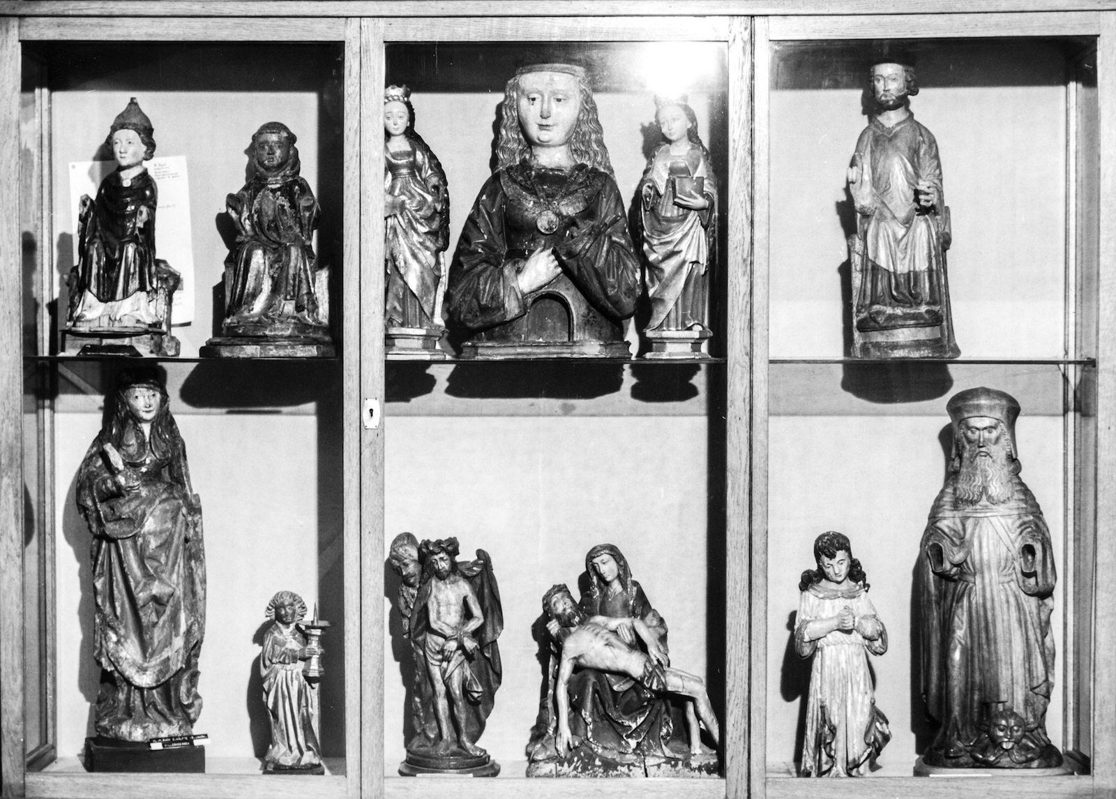 Ausstellungsraum im Generalvikariat. Aufnahme 1927/1928
