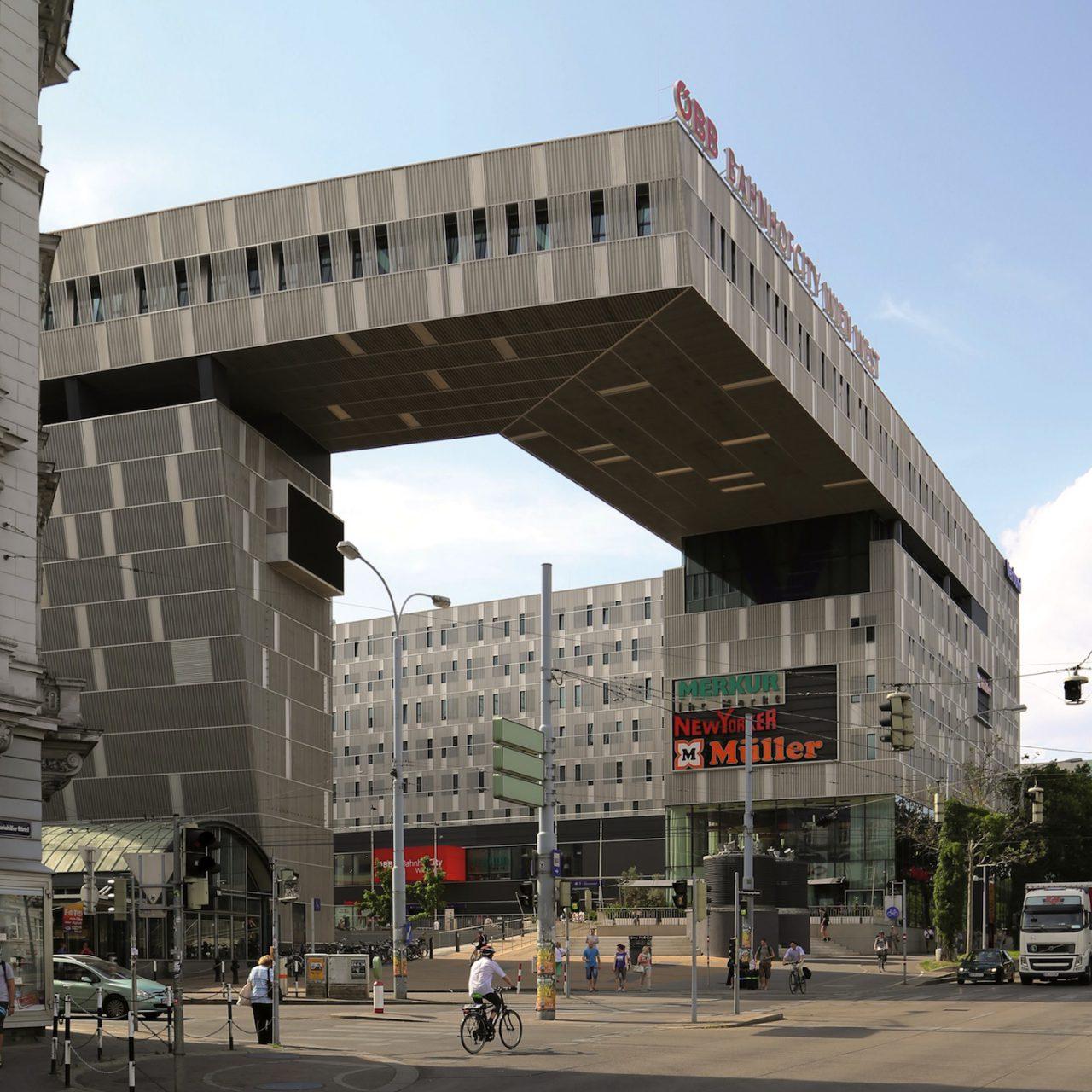 Bahnhof City West.  Neumann + Steiner, 2011