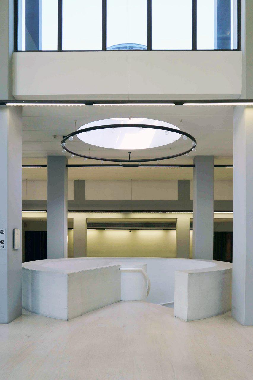 Die Erweiterung. Architekt war der Brite Sir Leslie Martin, der seit Jahren mit der Stiftung zusammenarbeitete.