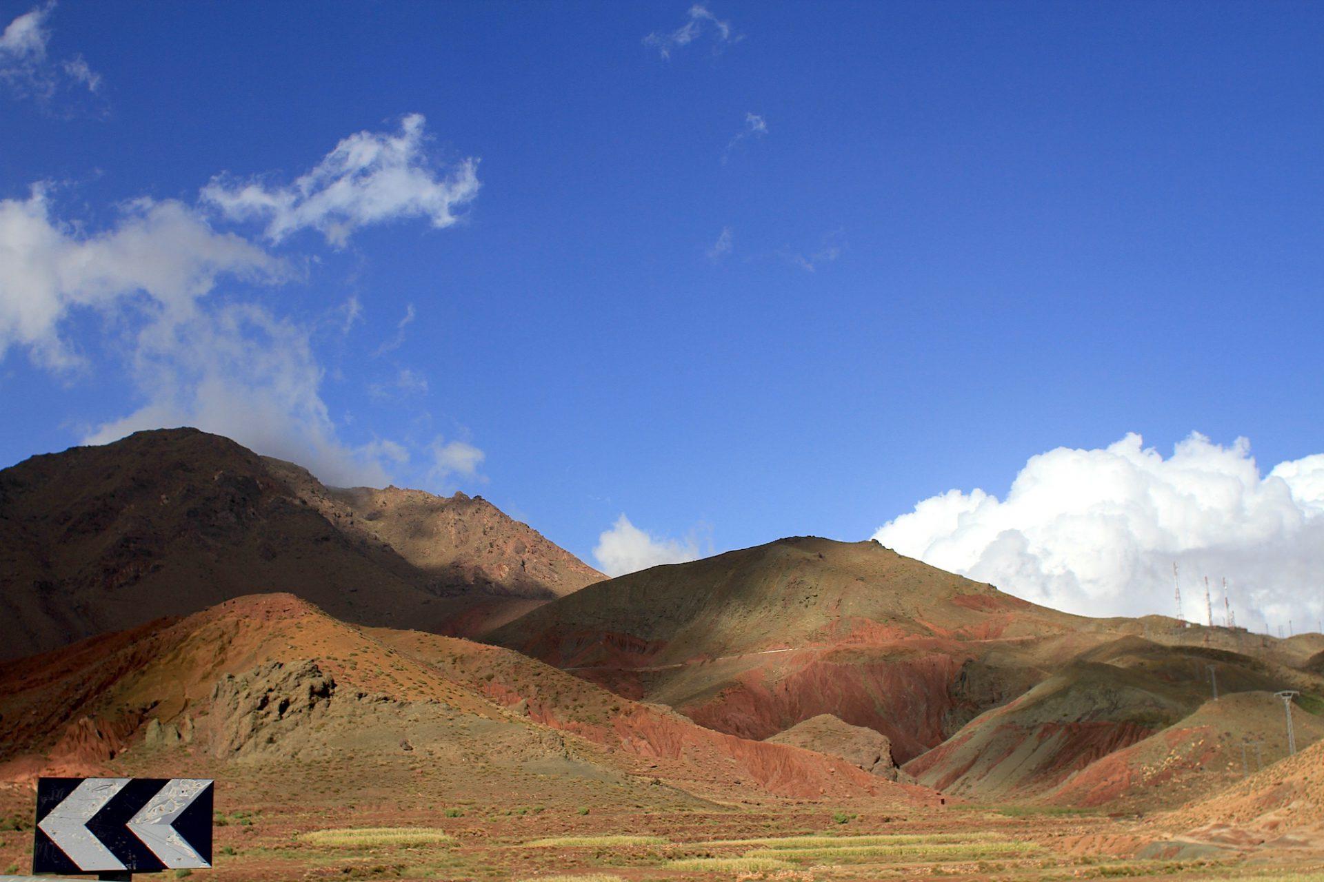 200 km. Fahrtstrecke: Marrakesch – Ait Ben Haddou