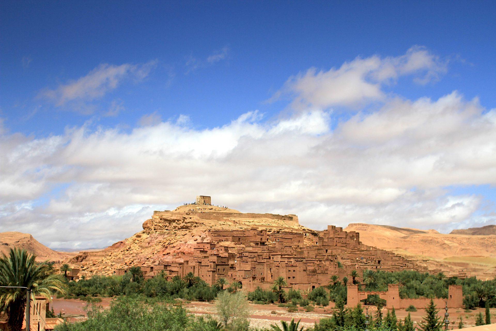 Krönung. Ait Ben-Haddou war einst einer der Stützpunkte der machtvollen Glaoua-Berber.