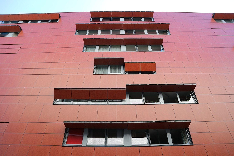The City. Erna van Sambeek, 2005. Kennzeichen: orange-braune Haut mit raffinierten Fensterklappen.