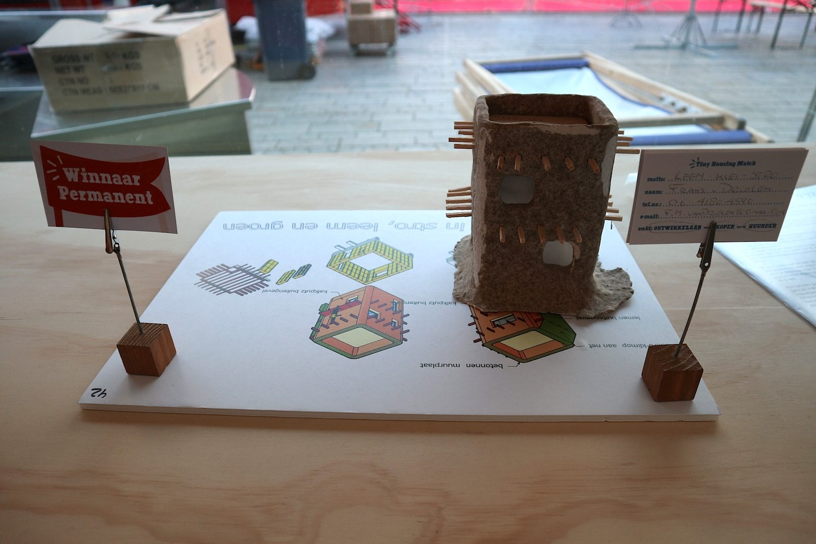 Tiny Housing BouwEXPO.  Die nächste Stufe der Almere-Evolution