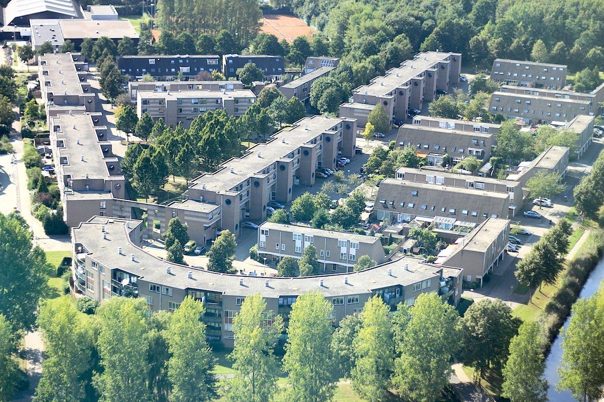 Staatsliedenwijk. Wohngebiet, unmittelbar an das Zentrum grenzend.