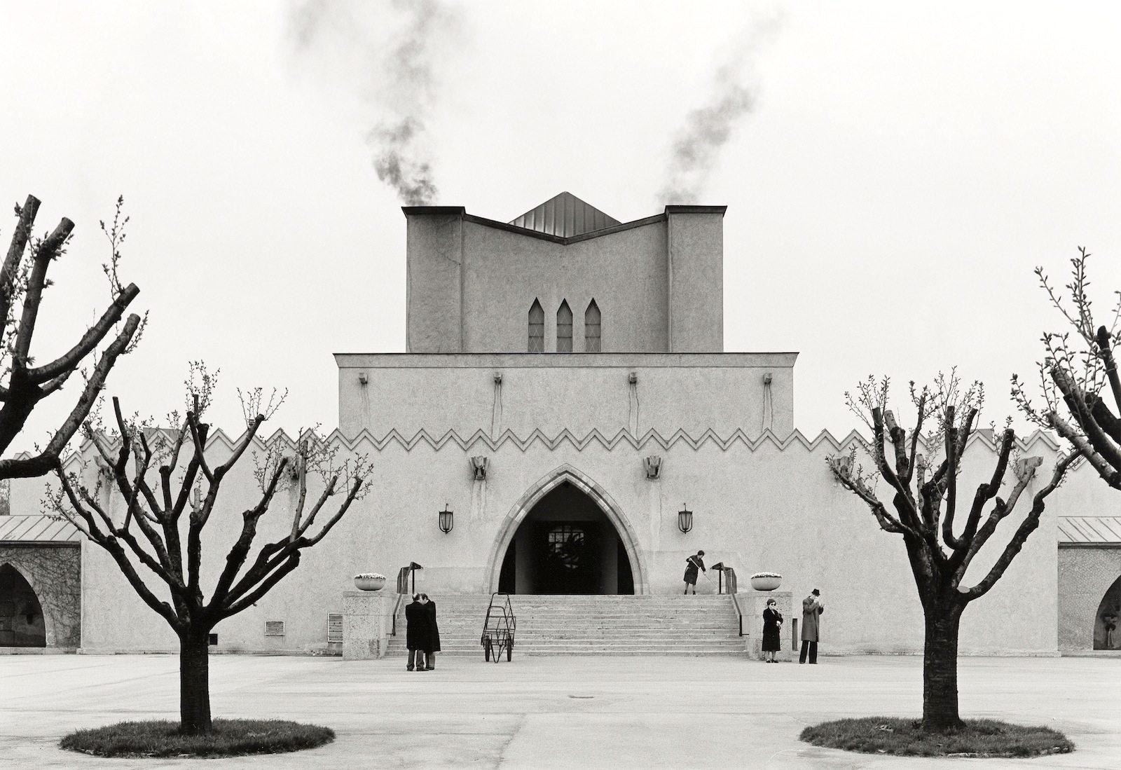 Krematorium, 1921–1922.  Clemens Holzmeister