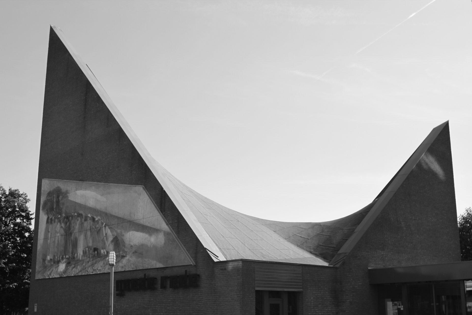 Kirche De Goede Rede.  Fertigstellung 1979