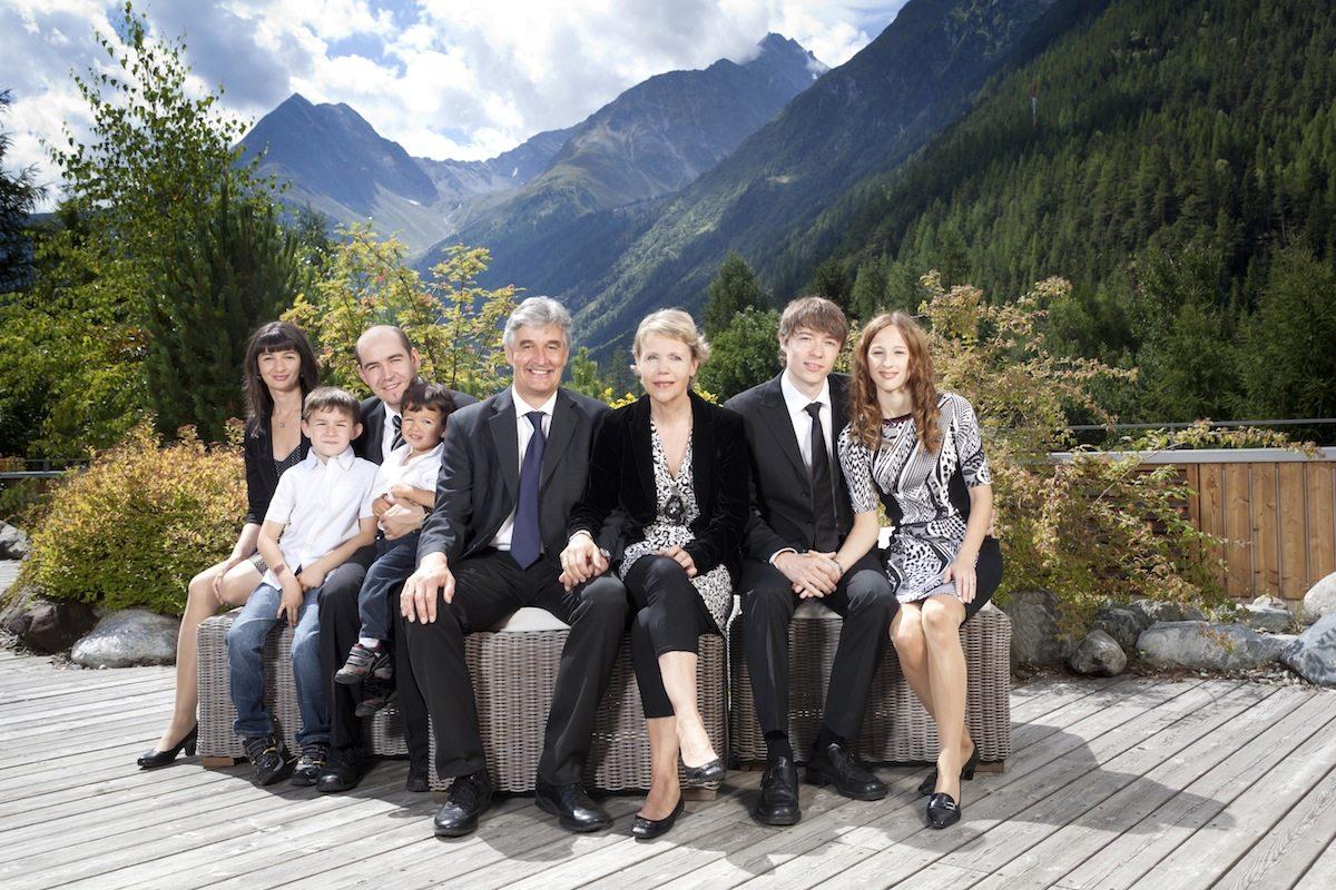 Familie Auer. Der Betreiber-Clan des Naturhotel Waldklause